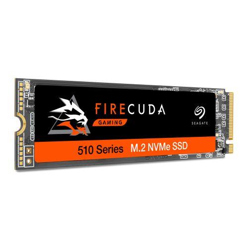 Seagate 500GB FireCuda 510 M.2 NVMe SSD, M.2 2280, PCIe, TLC 3D NAND, R/W 3450/2500 MB/s, 420K/600K IOPS