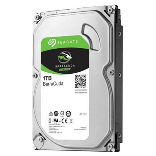 "Seagate 3.5"", 1TB, SATA3, BarraCuda Hard Drive, 7200RPM, 64MB Cache"