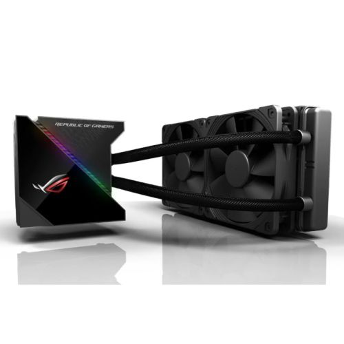 Asus ROG Ryujin 240mm Liquid CPU Cooler, 2 x 12cm Noctua Industrial PPC PWM Fans