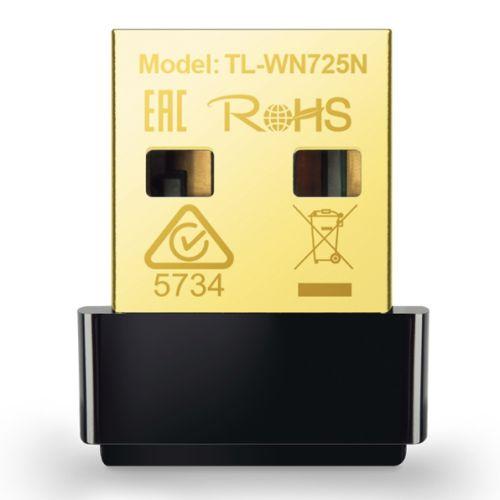 TP-LINK (TL-WN725N V3) 150Mbps Wireless N Nano USB Adapter