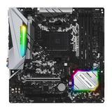 Asrock B450M STEEL LEGEND, AMD B450, AM4, Micro ATX, 4 DDR4, HDMI, DP, XFire, Rock-Solid Durability, RGB Lighting, M.2