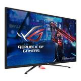 "Asus 43"" ROG Strix 4K HDR Gaming Monitor (XG438Q), 3840 x 2160, 4ms, 3 HDMI, DP, 120Hz, Lighting Effects, Remote Control, VESA"