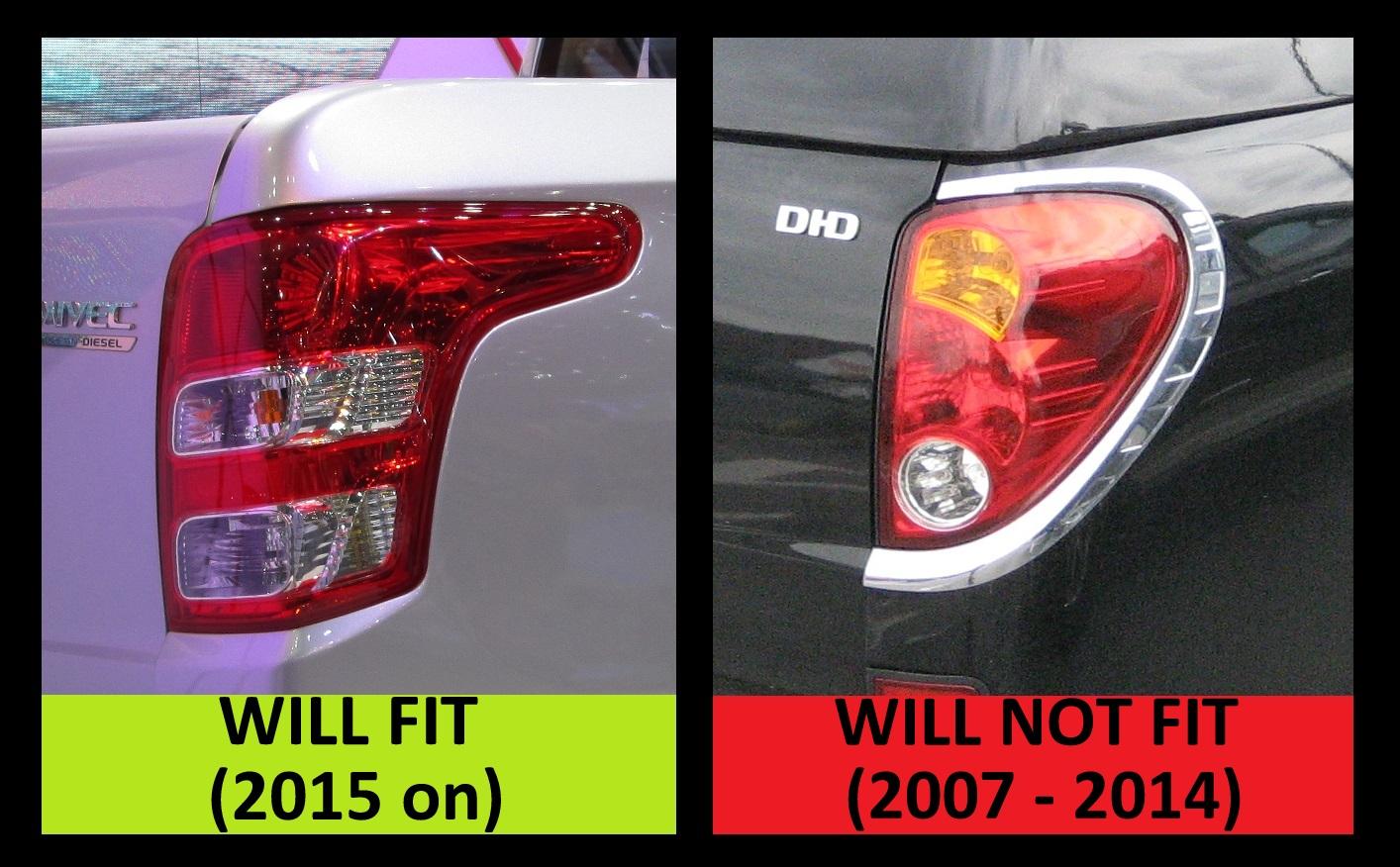 Rear Tail Light Lamp For Mitsubishi L200 Pickup New 2016