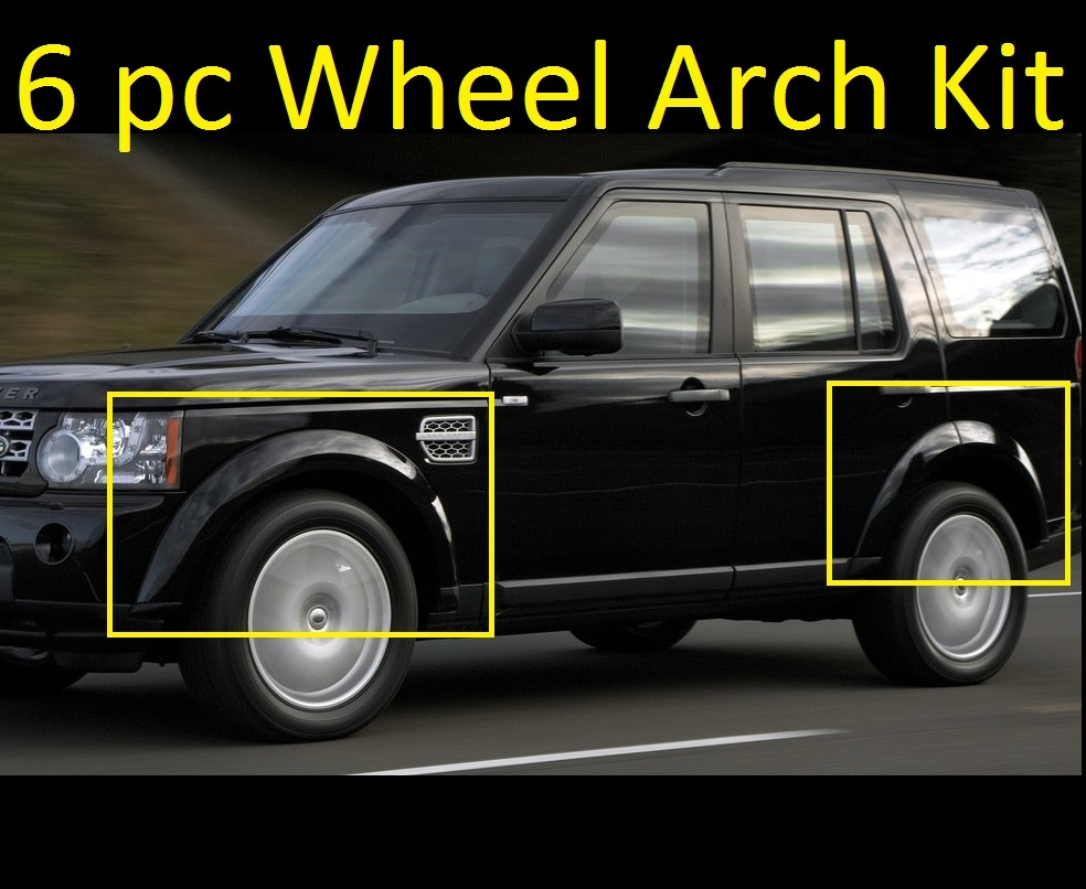 Land Rover Discovery 1 3 Door For Sale: 6pc Black Colour Coded Wheel Arch Kit Land Rover Discovery