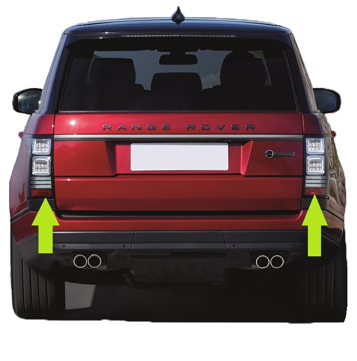 range rover l405 svr autobiography clear rear lights tail. Black Bedroom Furniture Sets. Home Design Ideas