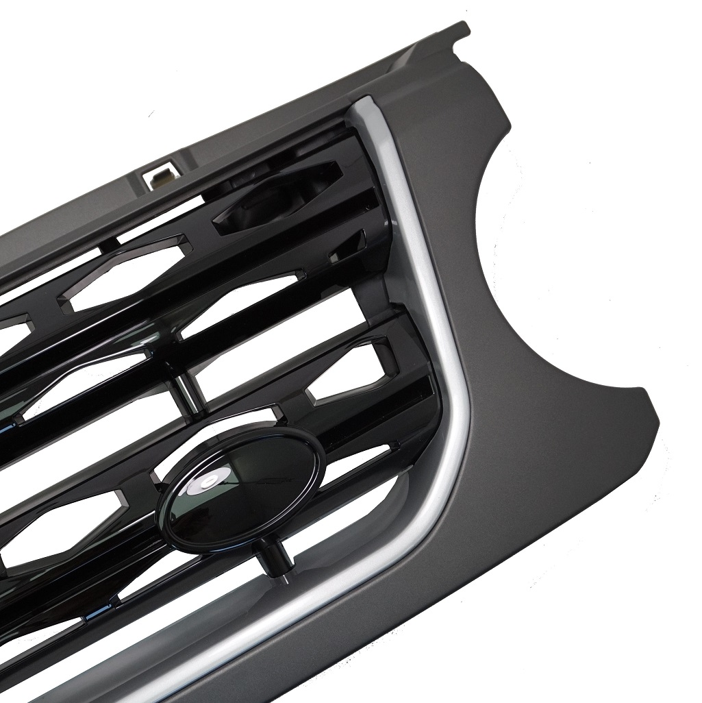 Grey/Silver/Black Disco 4 Facelift Style Front Grille For