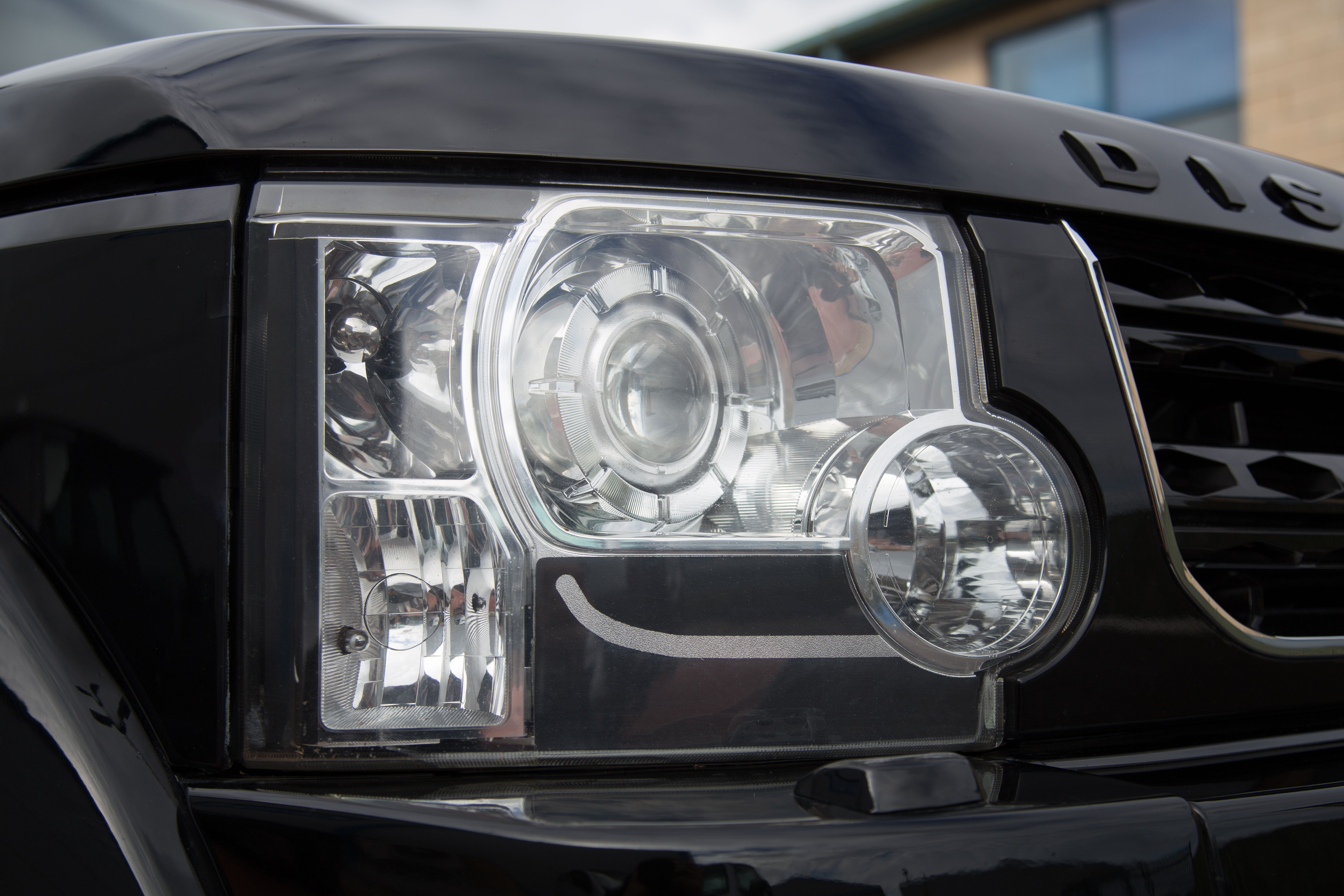D4 Look Headlight Upgrade Kit 6pc Sticker Bulb 3156 Land