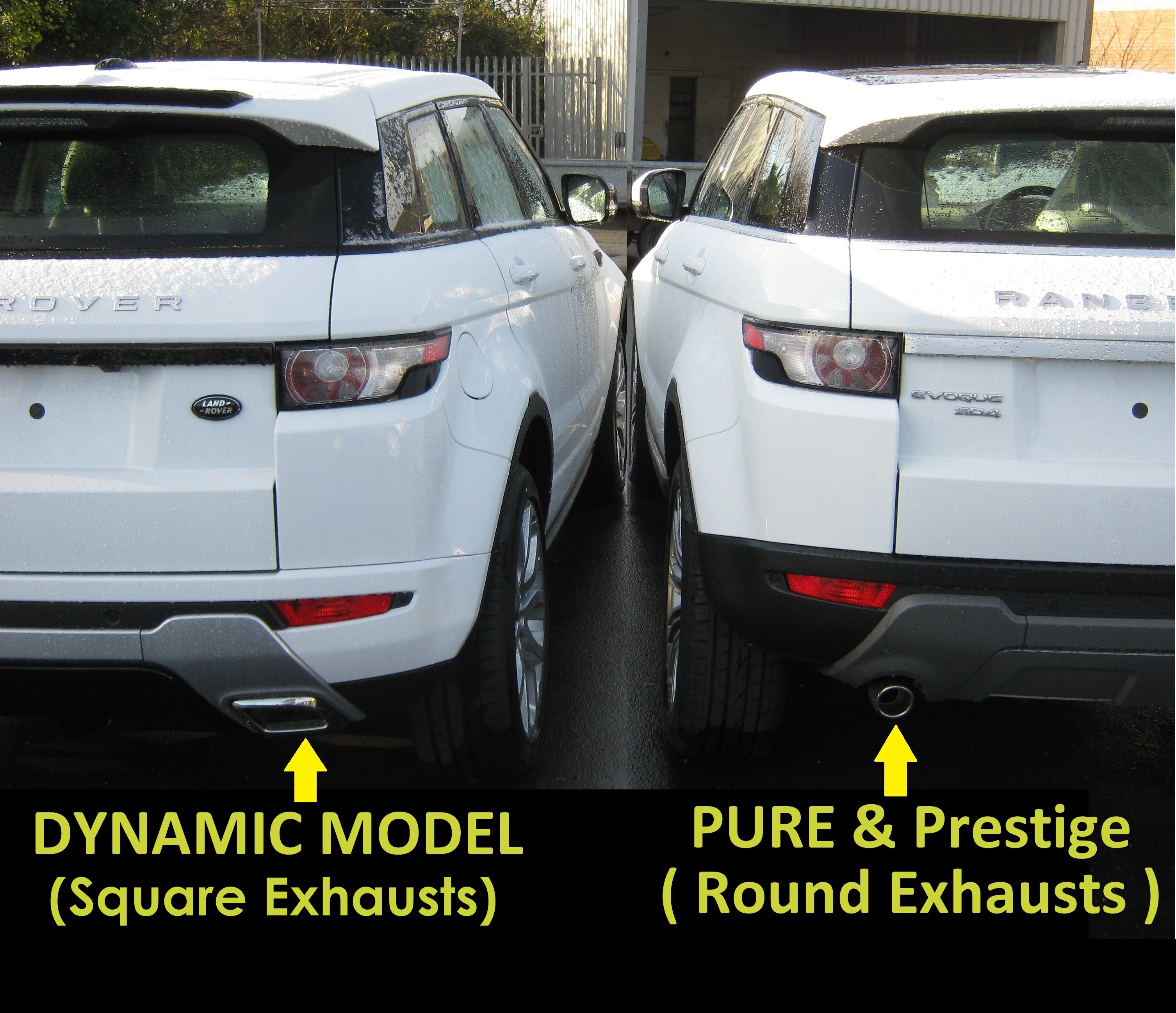 Used 2014 Land Rover Range Rover Evoque Pure Plus For Sale: Front Bumper Tow Eye Cover Spoiler Under Tray Range Rover