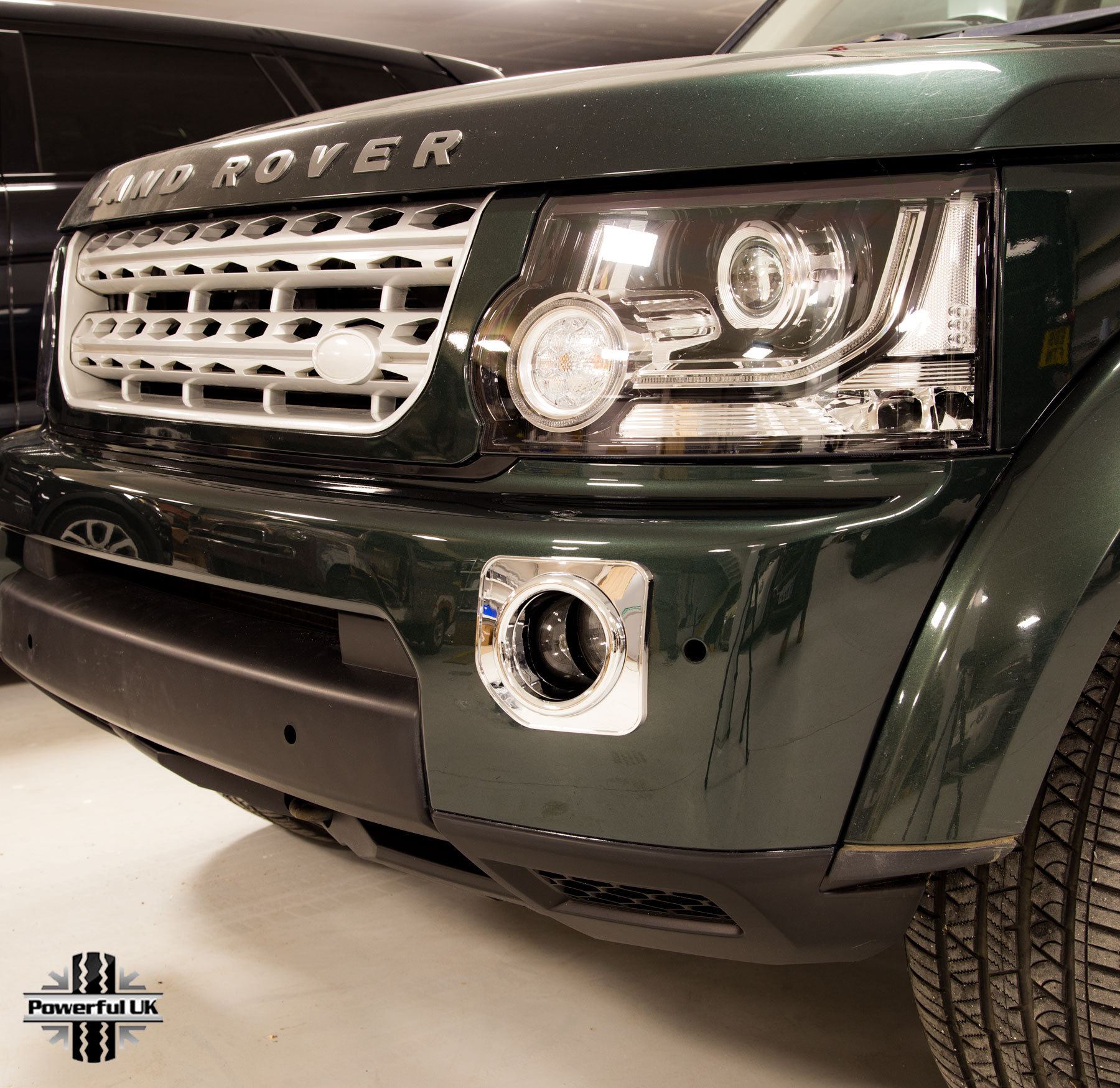 grey landrover supercharged front new silver ebay itm bumper disco grille land discovery style rover
