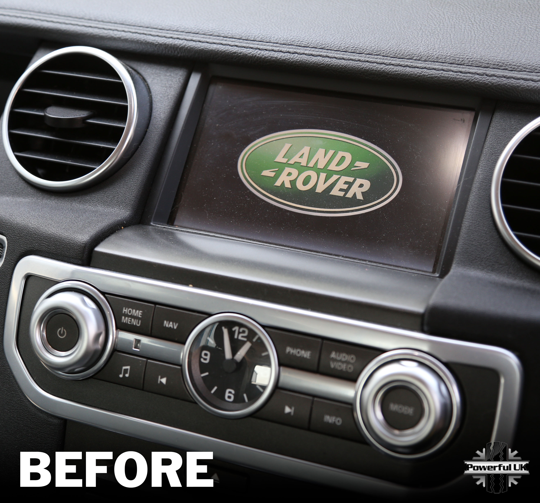 2002 Land Rover Range Rover Interior: Interior Trim Cover Navigation Screen Surround For