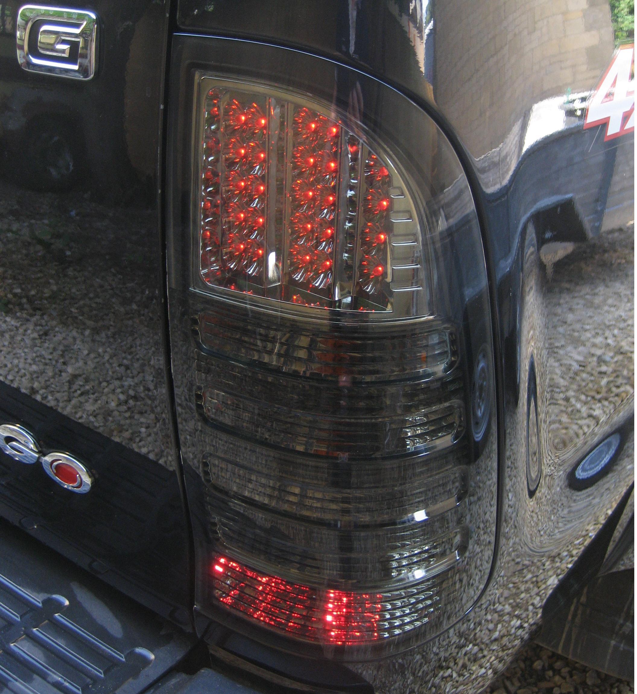 2011 Rear Lamps Upgrade Kit for Toyota Hilux Mk6//7 Vigo pickup tail lights pair