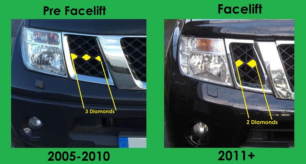 Used Nissan Pathfinder For Sale >> Black LED Projector Headlights for Nissan Navara D40 / Pathfinder headlamps NEW | eBay