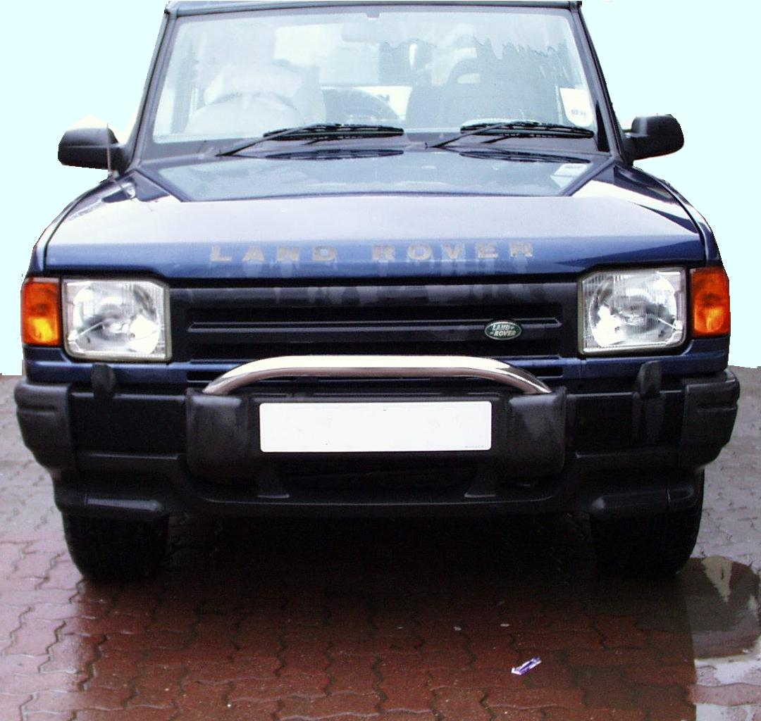 A Chrome SPOT LIGHT BAR For Land Rover Discovery 1 2 200
