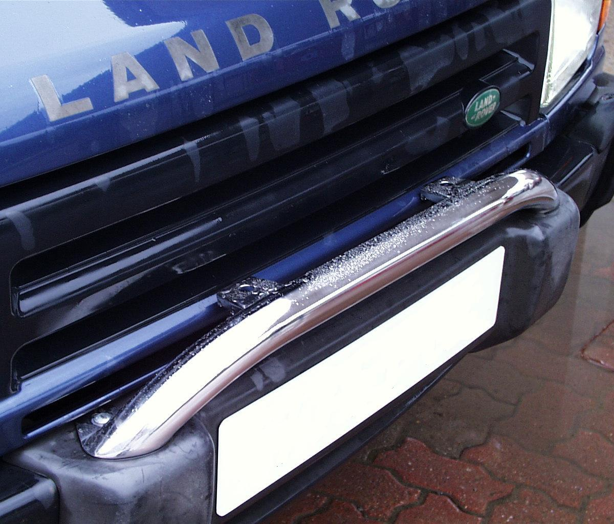 Winch Bumper With Led Lights By Rovers North For Discovery: A Chrome SPOT LIGHT BAR For Land Rover Discovery 1 2 200