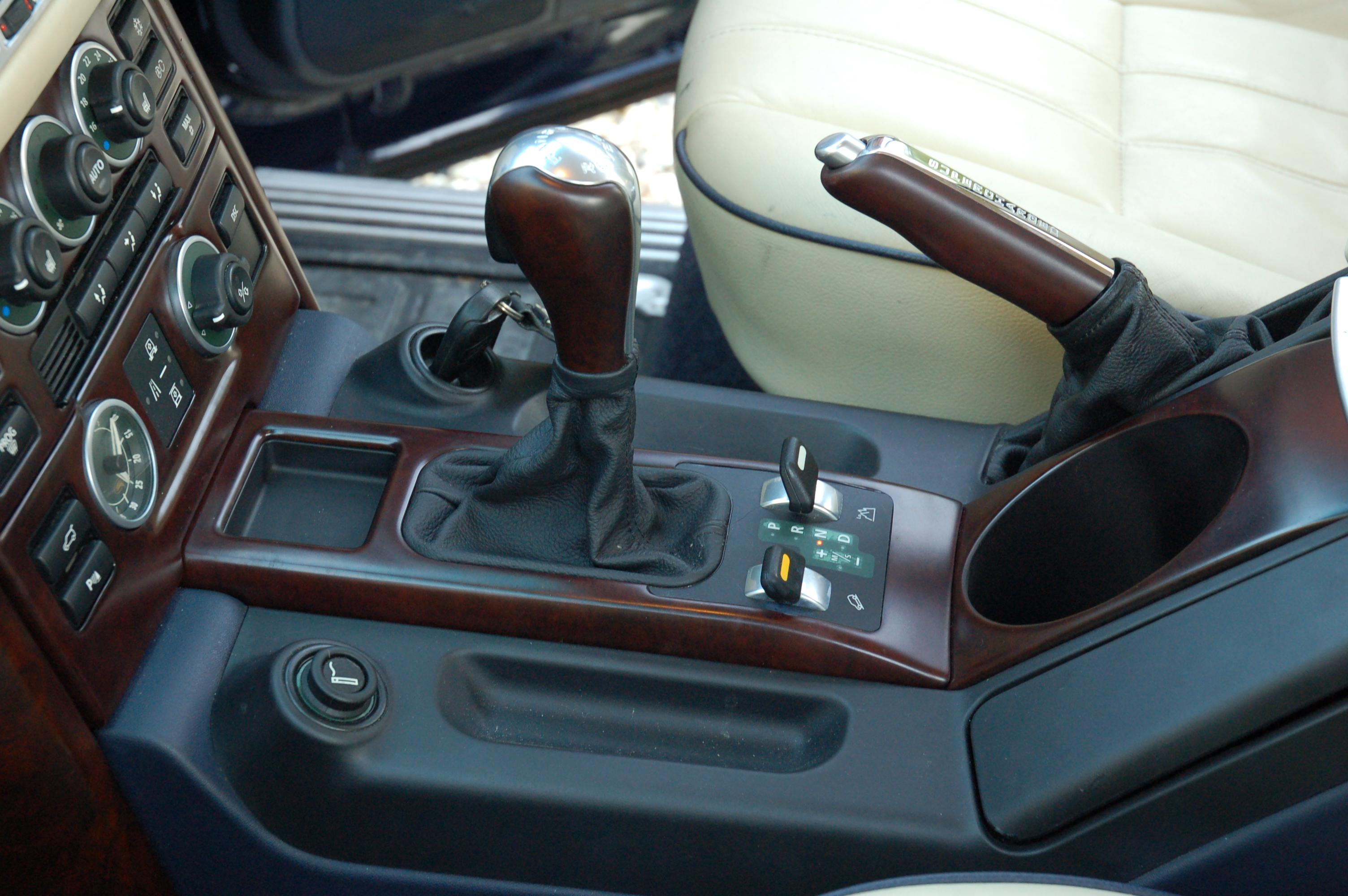 Range Rover Sport Interior Trim Removal