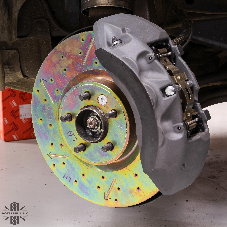 range rover VOUGE brembo front brake pads range rover vouge 6pot inc fitting kit