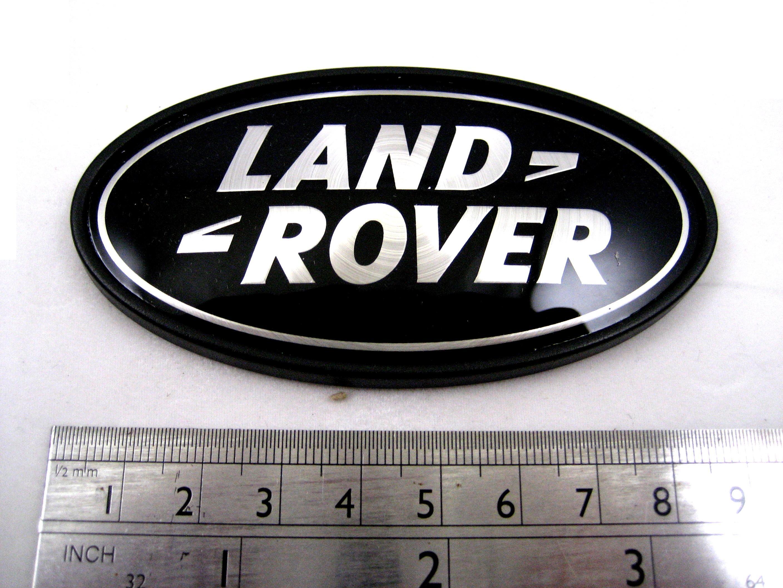 Range Rover Sport Supercharged Blacksilver Rear Land Rover Badge
