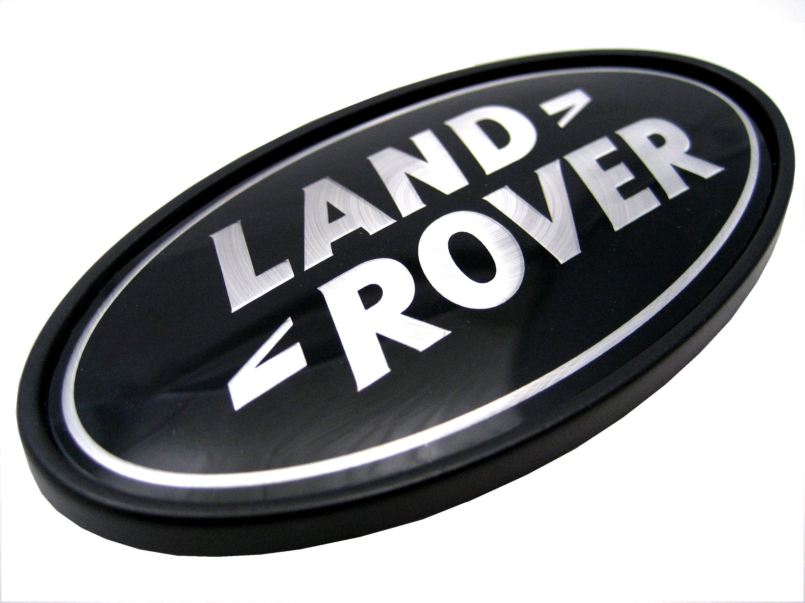 Range Rover P38 Blacksilver Oval Rear Land Rover Badge Upgrade Logo