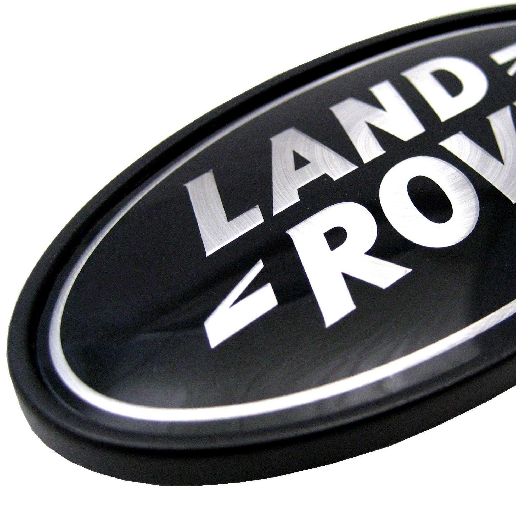Land Rover Discovery Blacksilver Oval Rear Badge Upgrade 1 2 3 Lr3