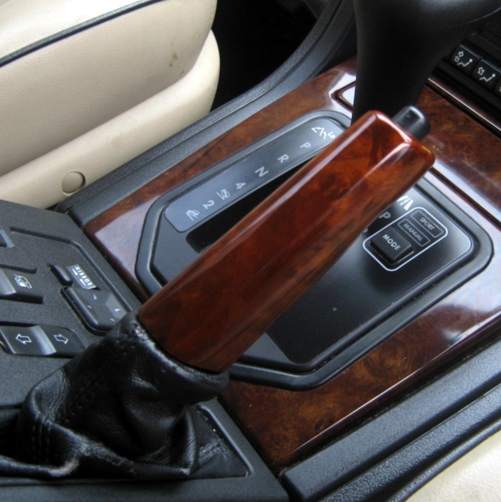 2002 Land Rover Range Rover Interior: WALNUT Wood Hand Brake Sleeve For Range Rover P38