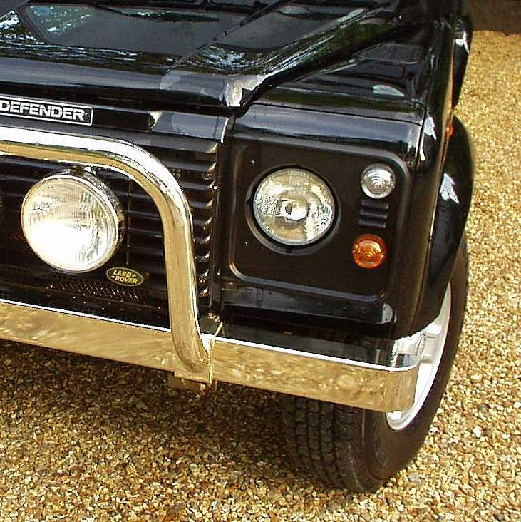 Stainless Steel Front BUMPER For Land Rover Defender