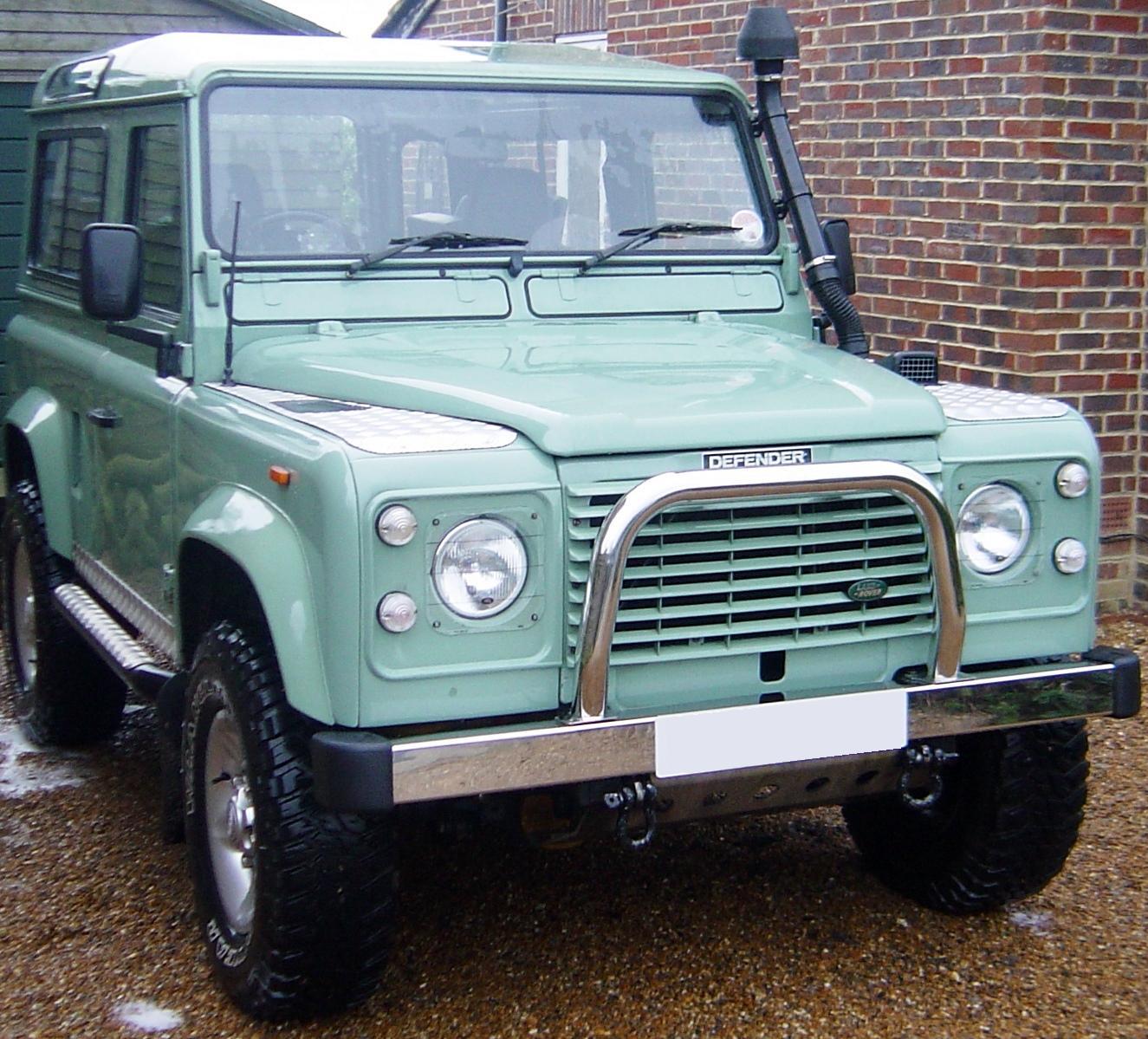 Genuine Land Rover Defender Front Bumper End Cap Rubber