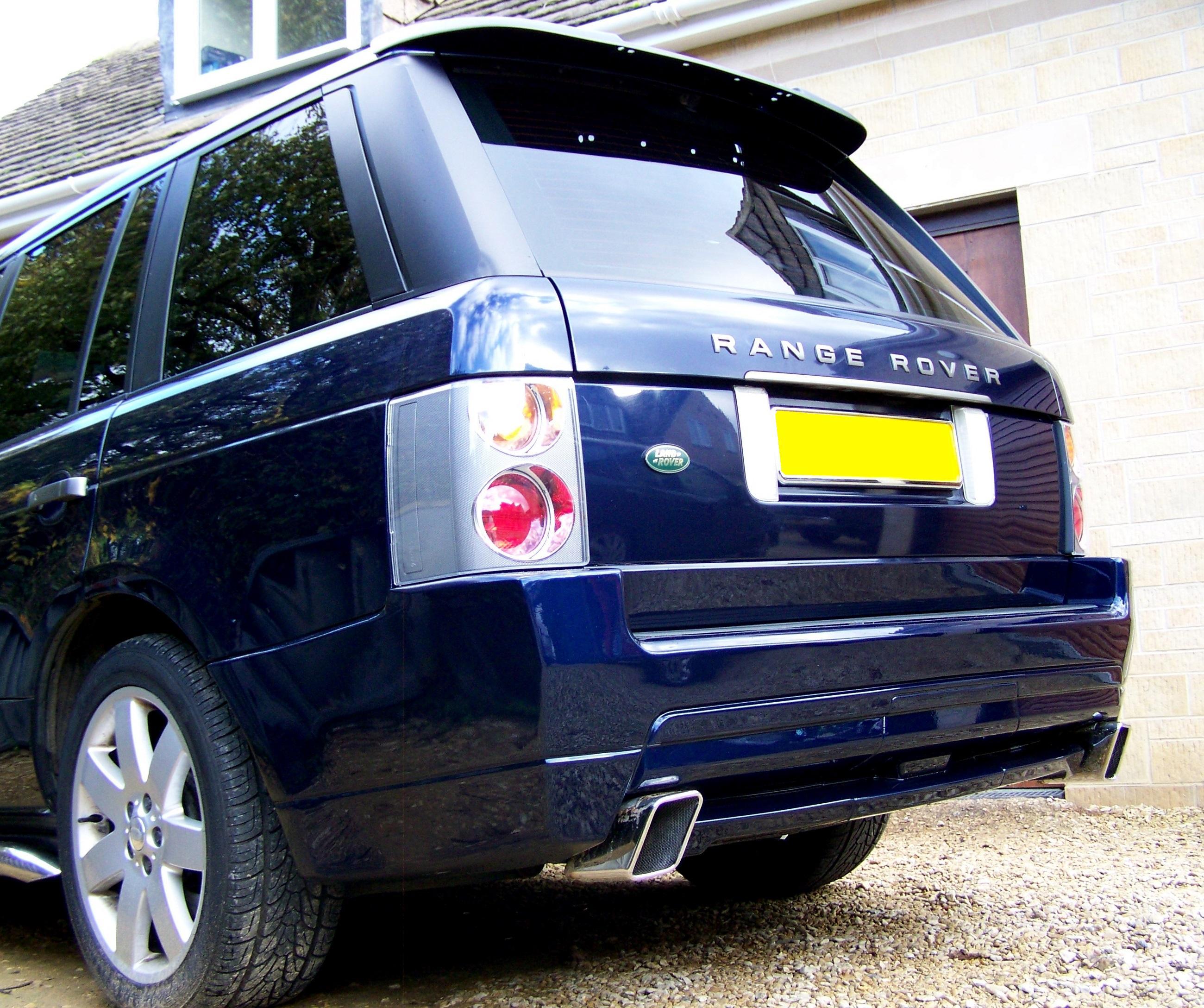 Complete Rear Bumper Bodykit For Range Rover L322 2002