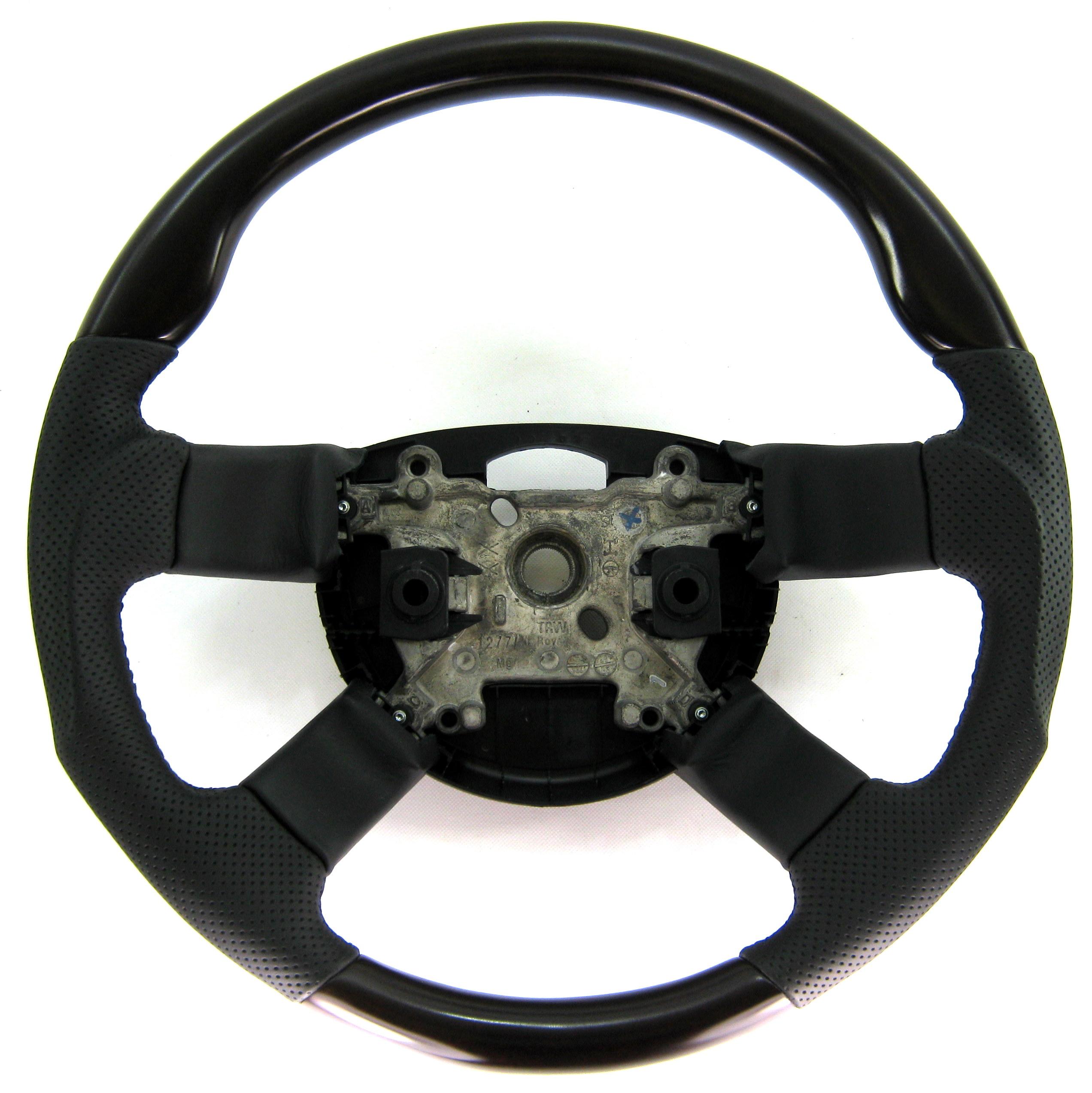 Heated Front Seats And Steering Wheel: Walnut Wood+Leather Sport Steering Wheel Range Rover L322