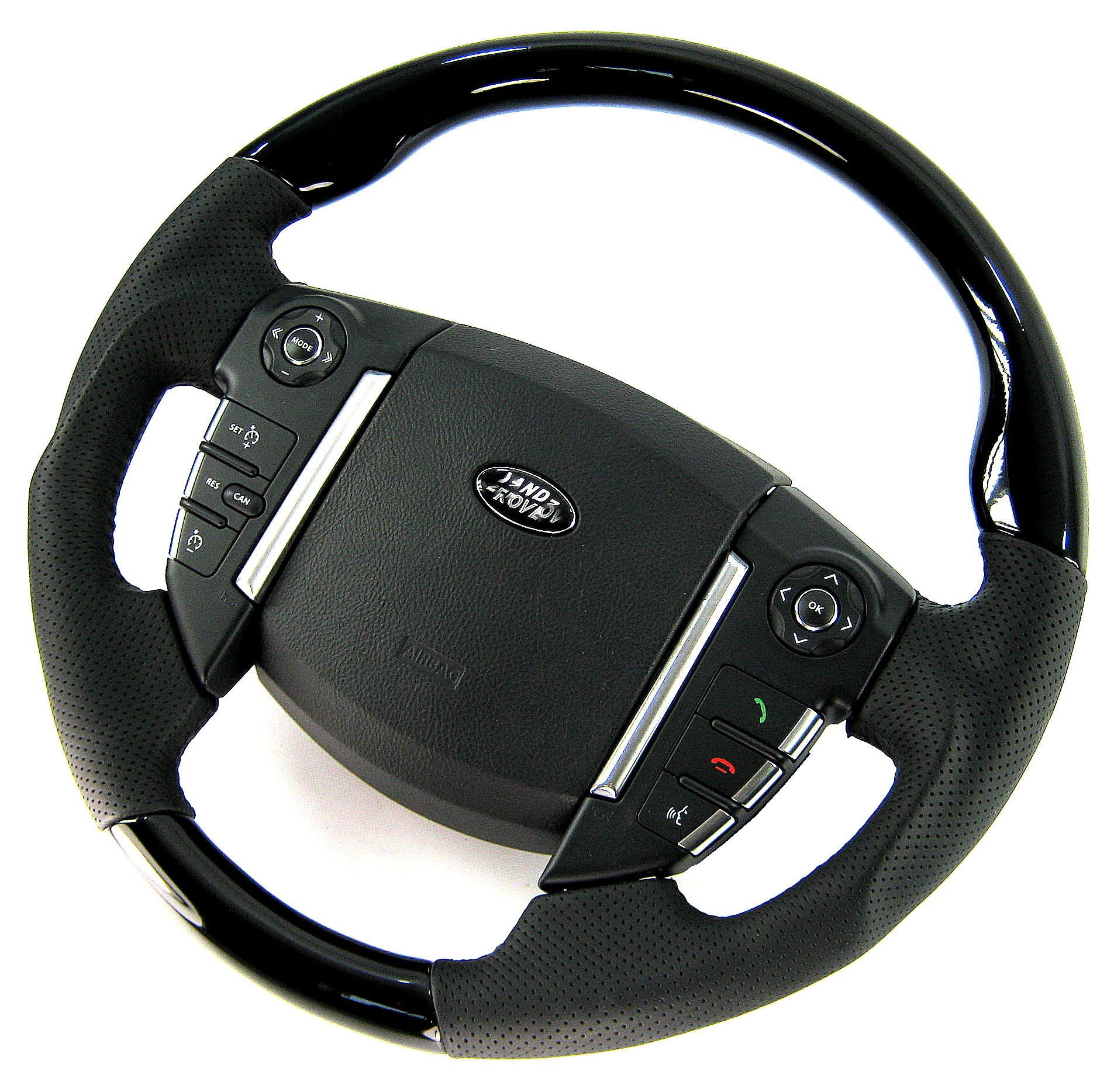 Details about Grande Black Piano lacquer Steering Wheel for Range Rover  Sport 2010+ interior