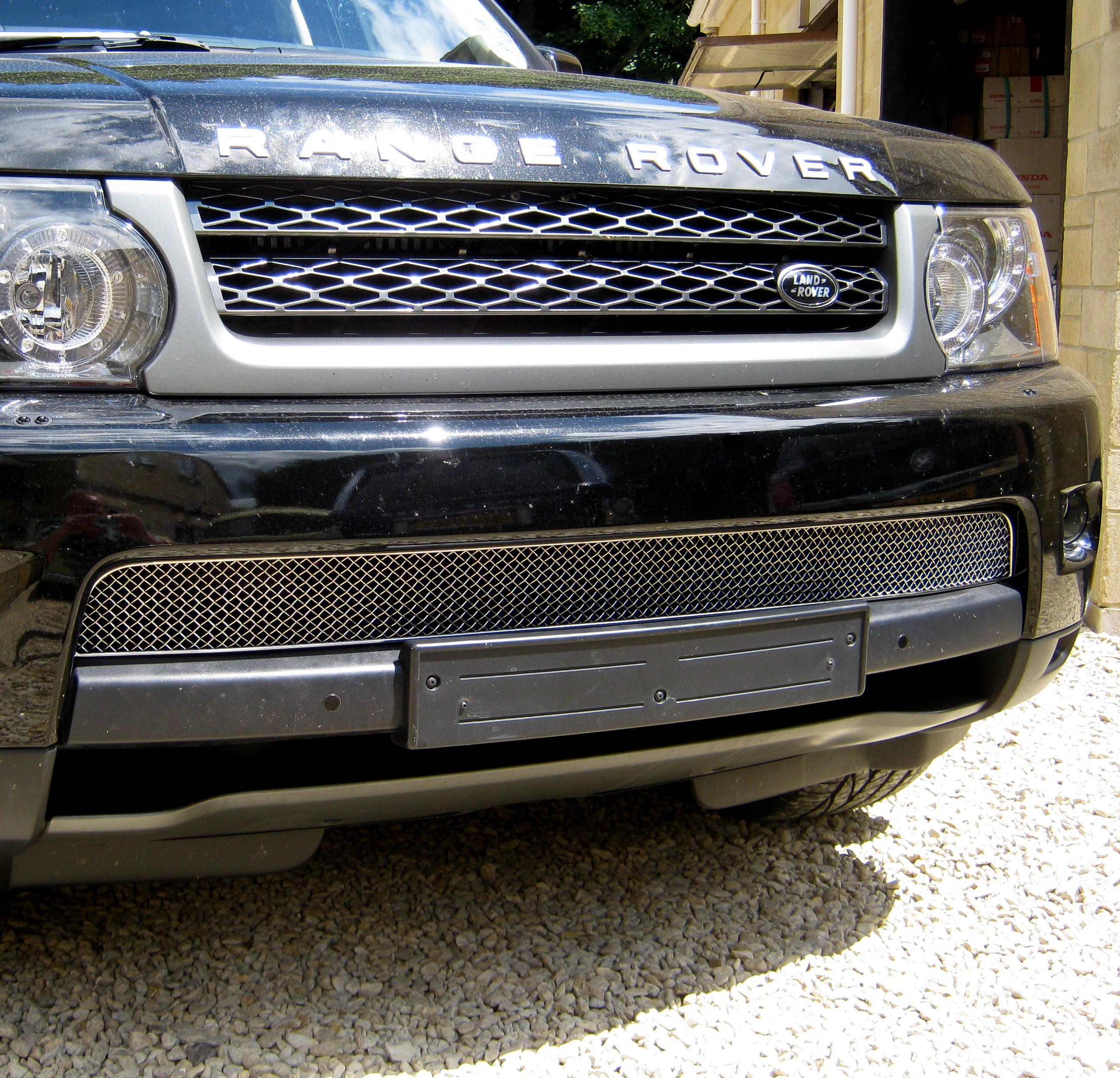 Chrome Front Bumper MESH GRILLE For Range Rover Sport 2010