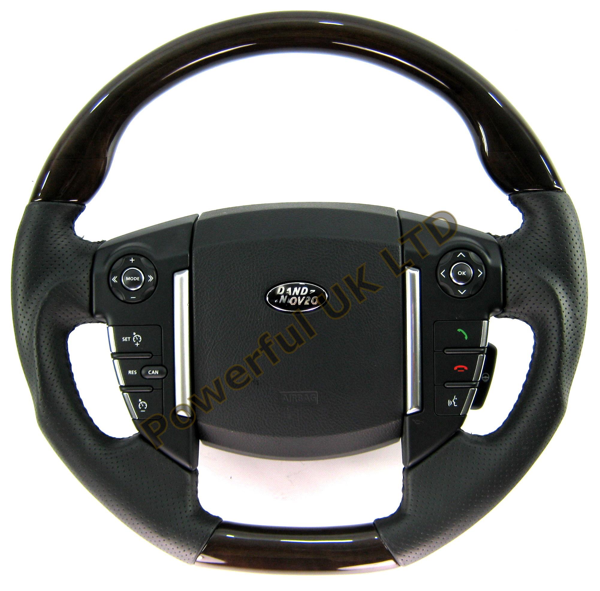 Anigre Wood Steering Wheel For Range Rover Sport 2010 HSE