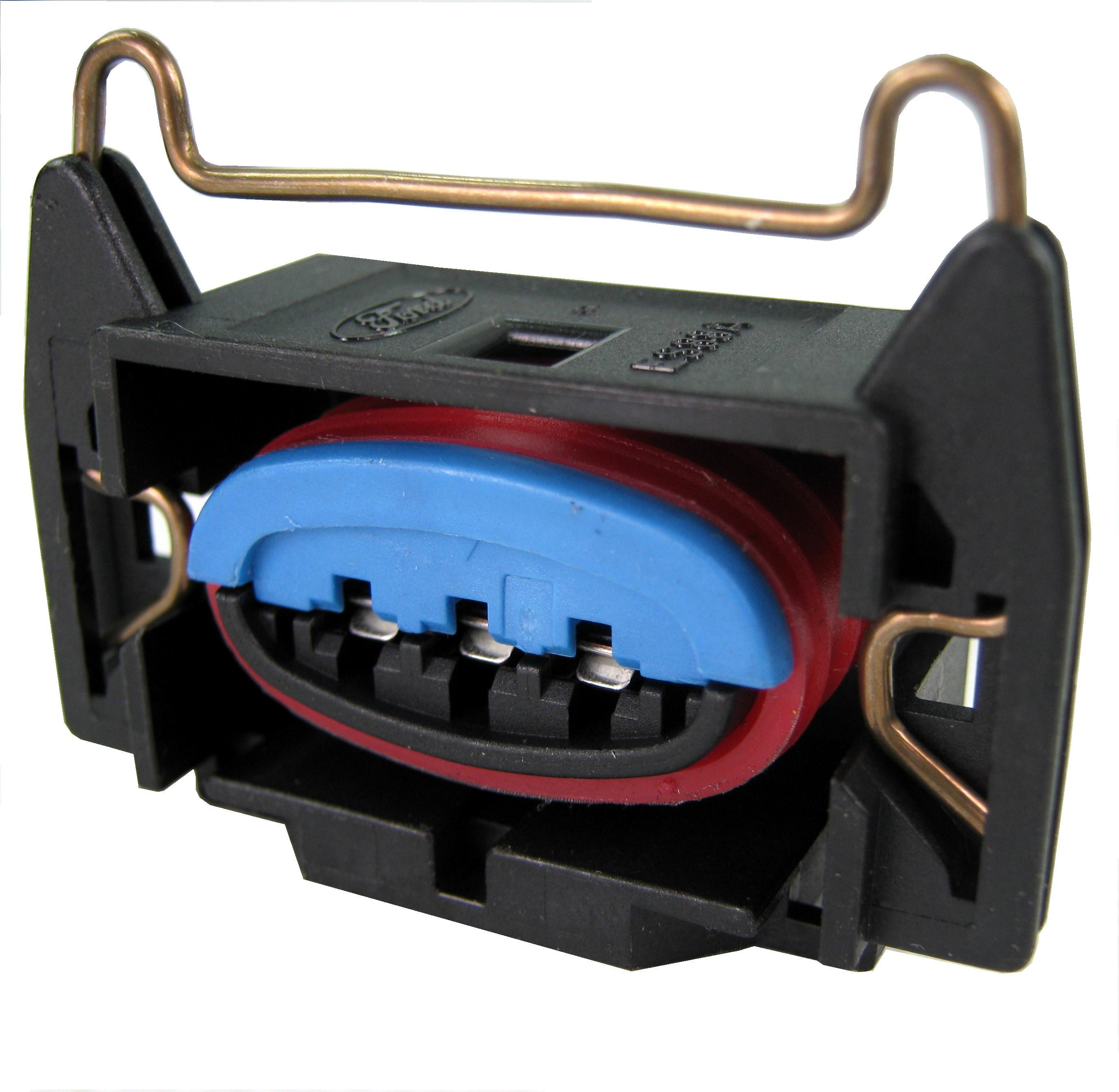 Details about Ford EDIS coil pack connector plug Megasquirt 4cyl ECU ka  sierra escort focus