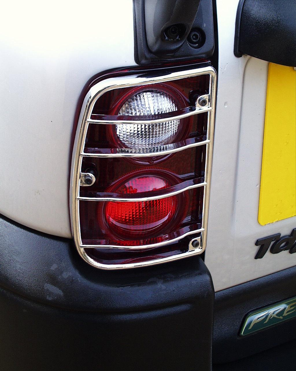 Rear Light Guards Chrome For Land Rover Freelander Lamp