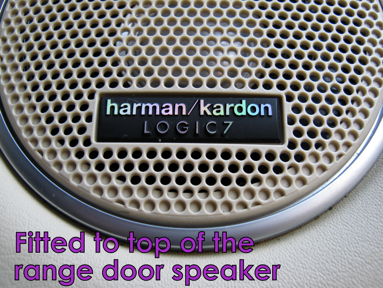 harman kardon logic 7 insignia range rover l322 altavoz de. Black Bedroom Furniture Sets. Home Design Ideas