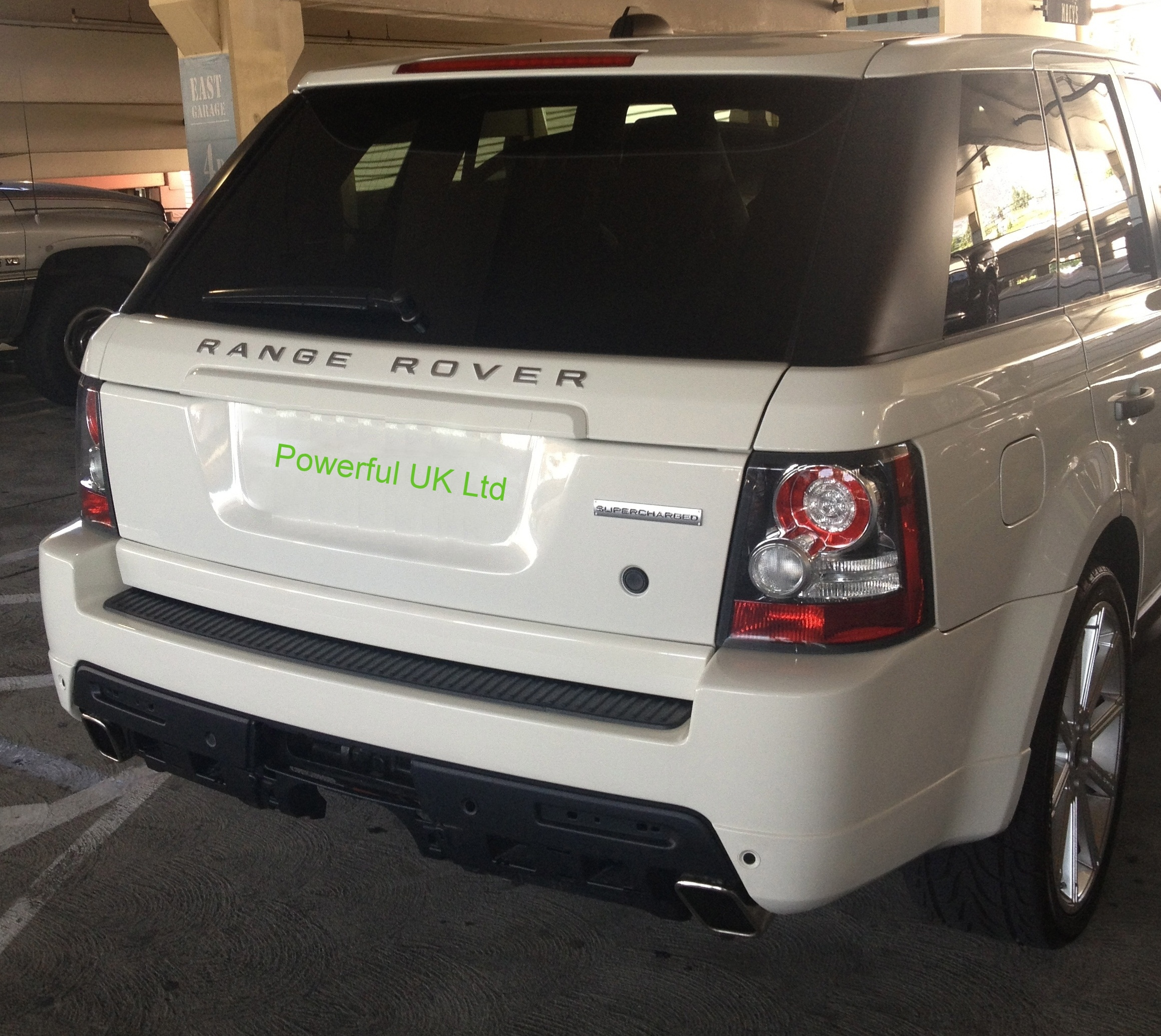 Rear Bumper Autobiography Style For Range Rover Sport 2010