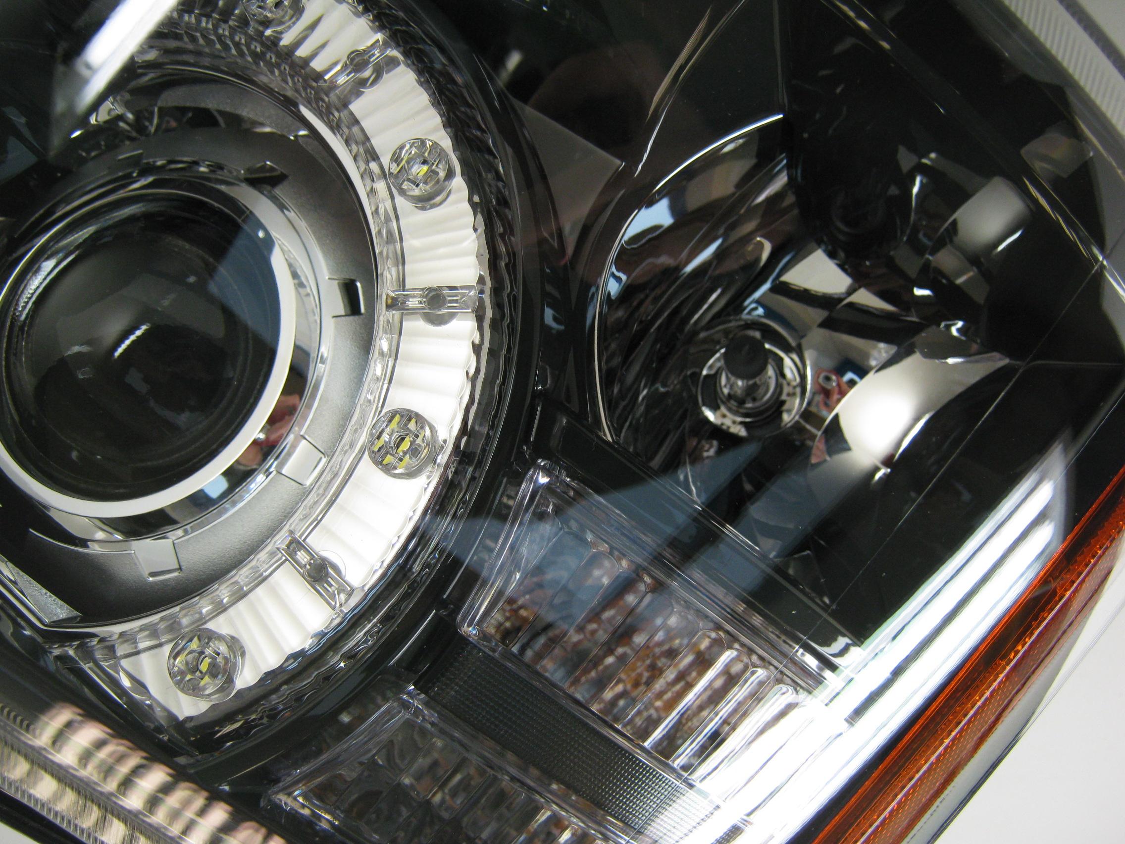 Genuine headlight assembly rhd left range rover