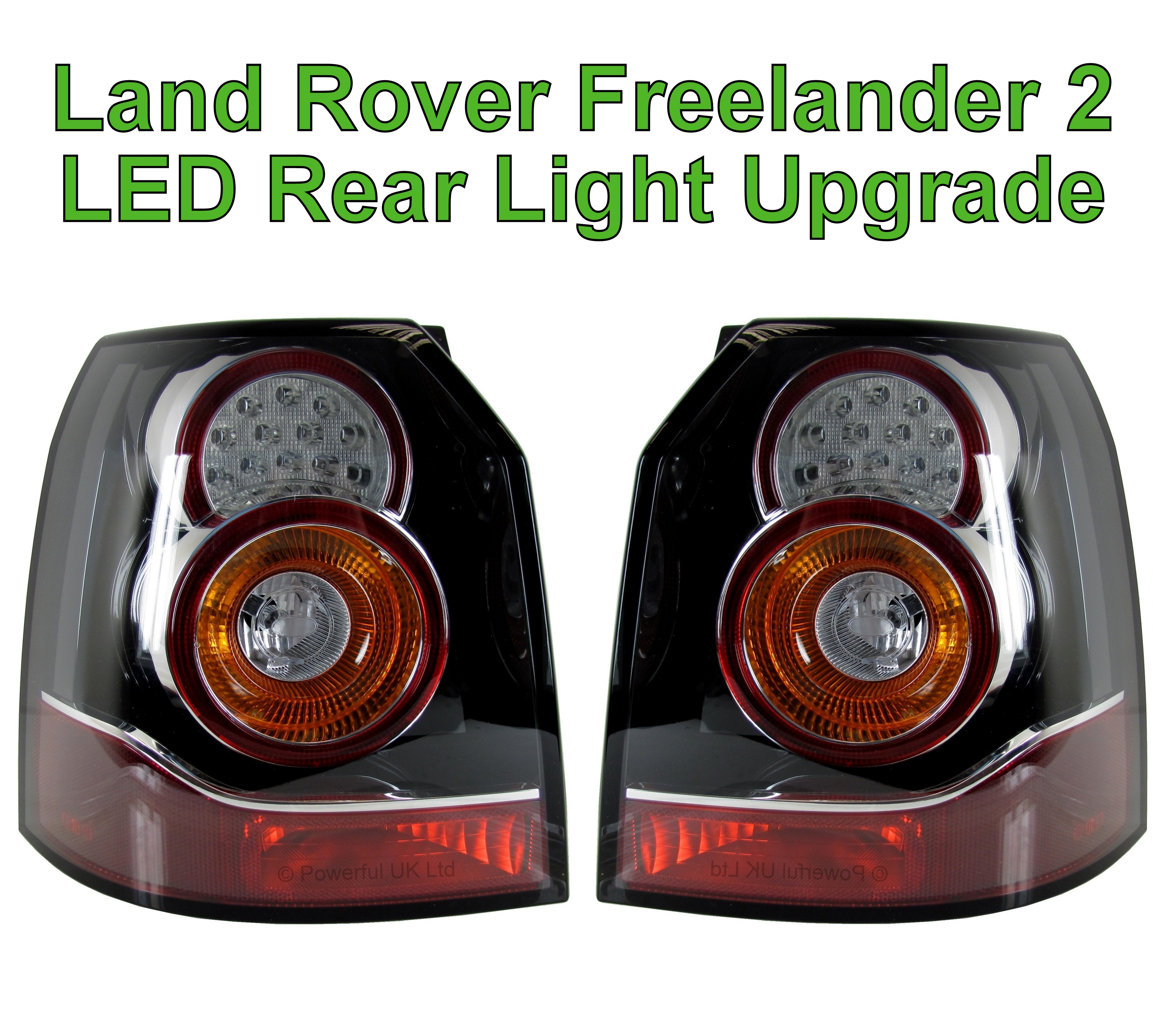Land Rover Freelander 2 LED Rear Light Tail Lamp Upgrade