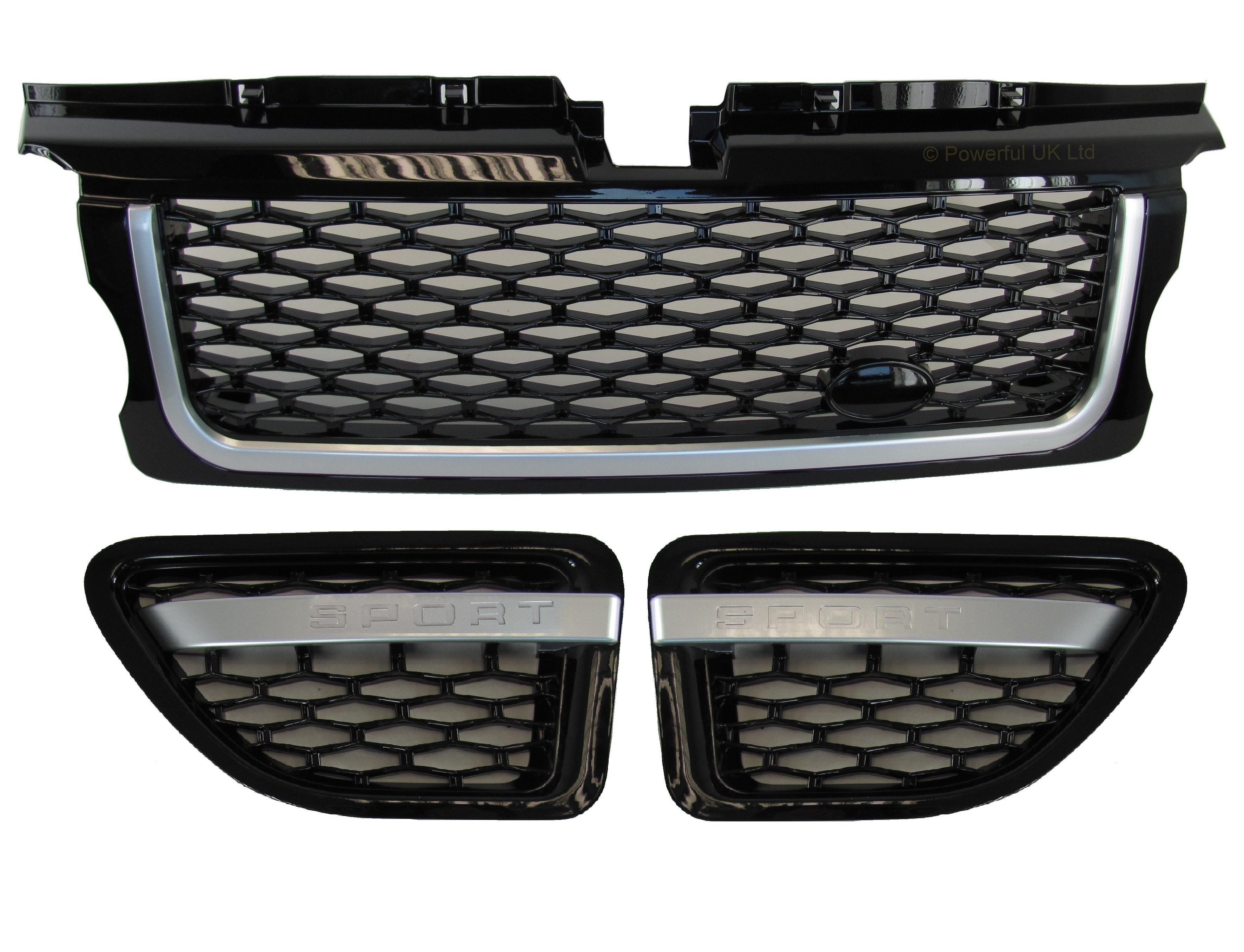 Range Rover Sport 2005-2009 tous Argent autobiographie Grille /& fentes latérales