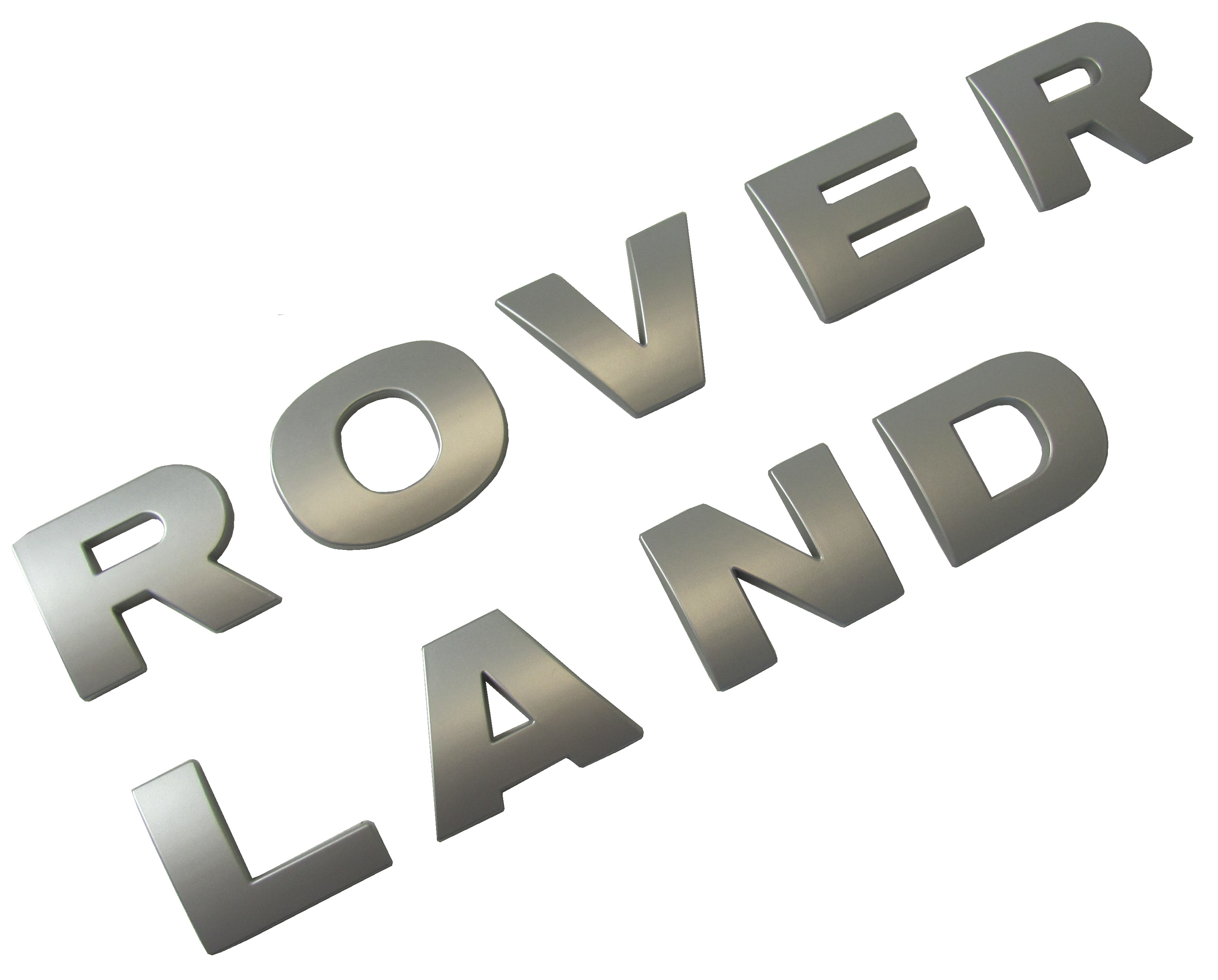 Silver Bon Lettering Silverland Jewelry Lakeside