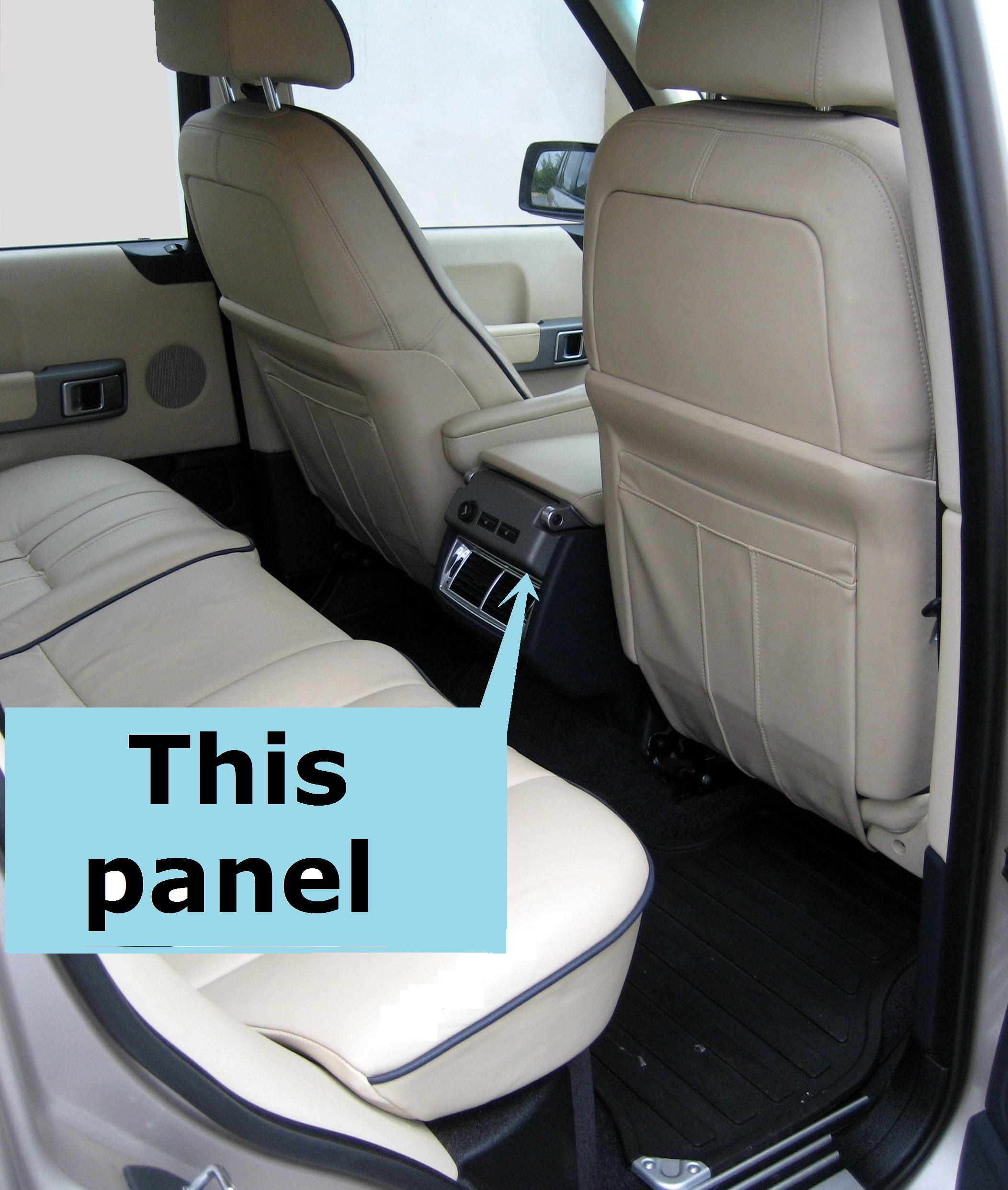 2002 Land Rover Range Rover Interior: Rear Passenger Control Fascia For Range Rover L322
