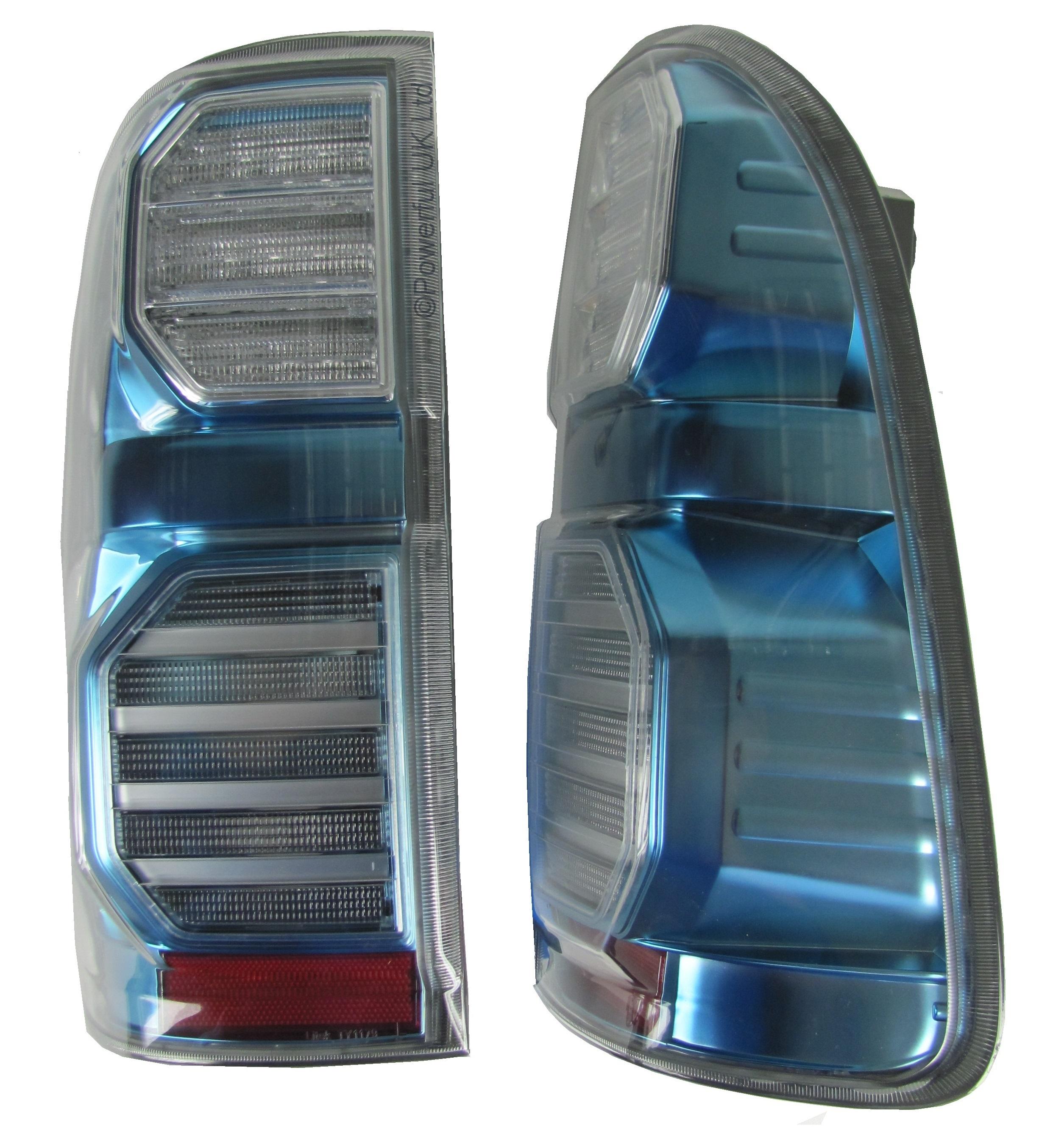 Rear Lights Hilux Titanium Blue Hybrid Led for Toyota Mk6//Mk7//Vigo tail lamp