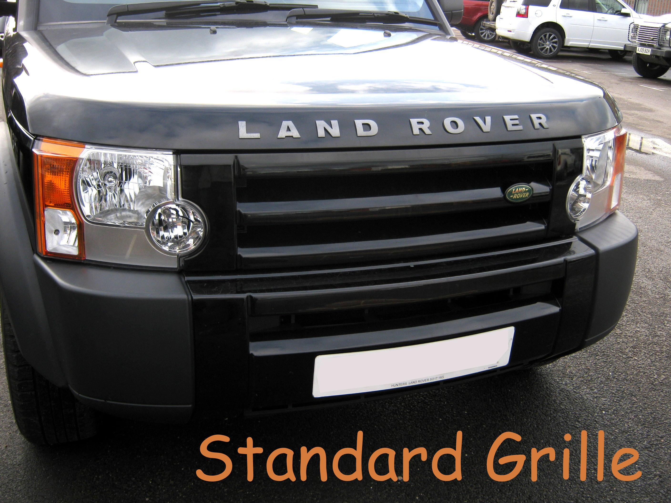 Disco 4 Style Front Grille Conversion For Land Rover