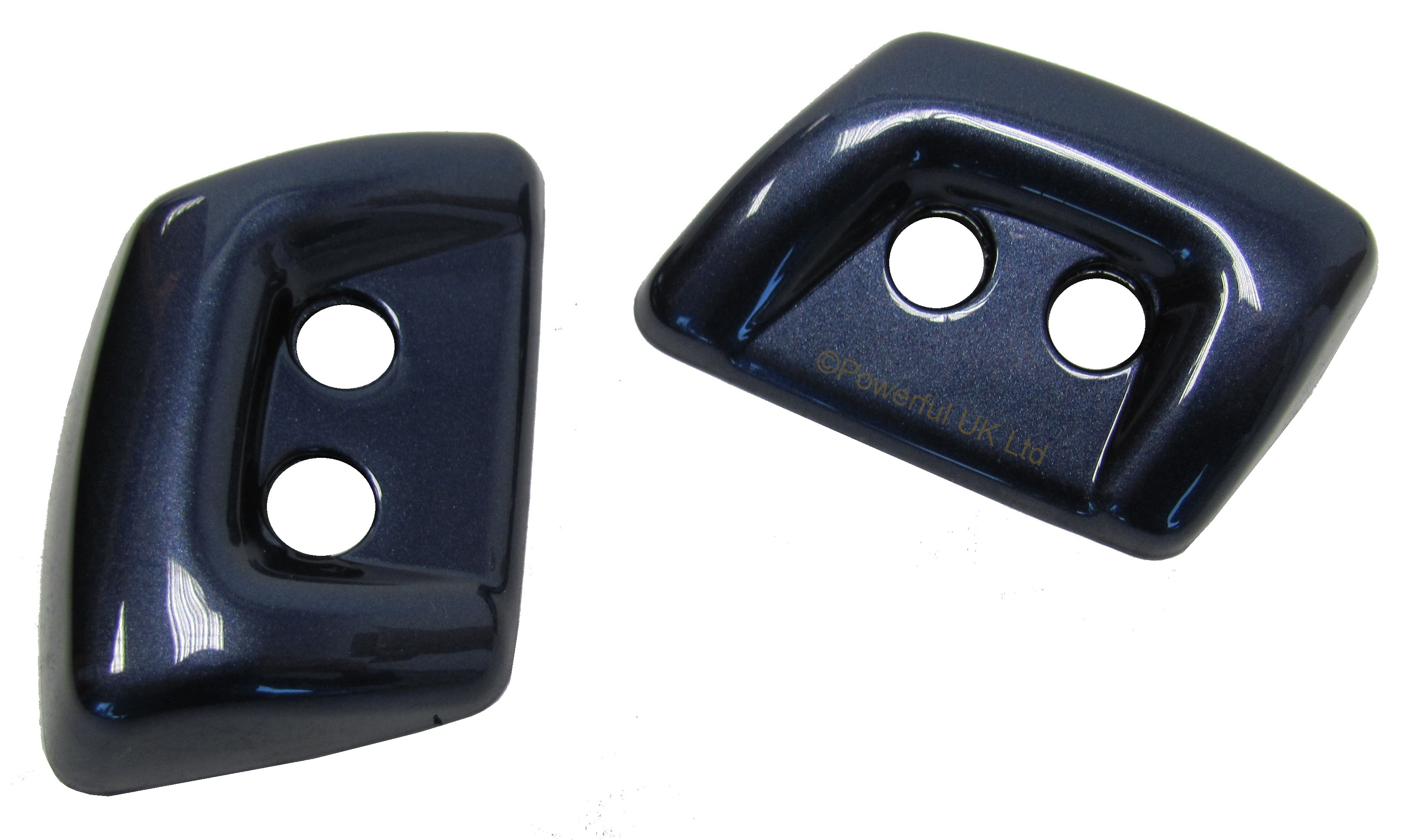 Cairns Blue headlight headlamp WASHER JET COVER for Land Rover ...