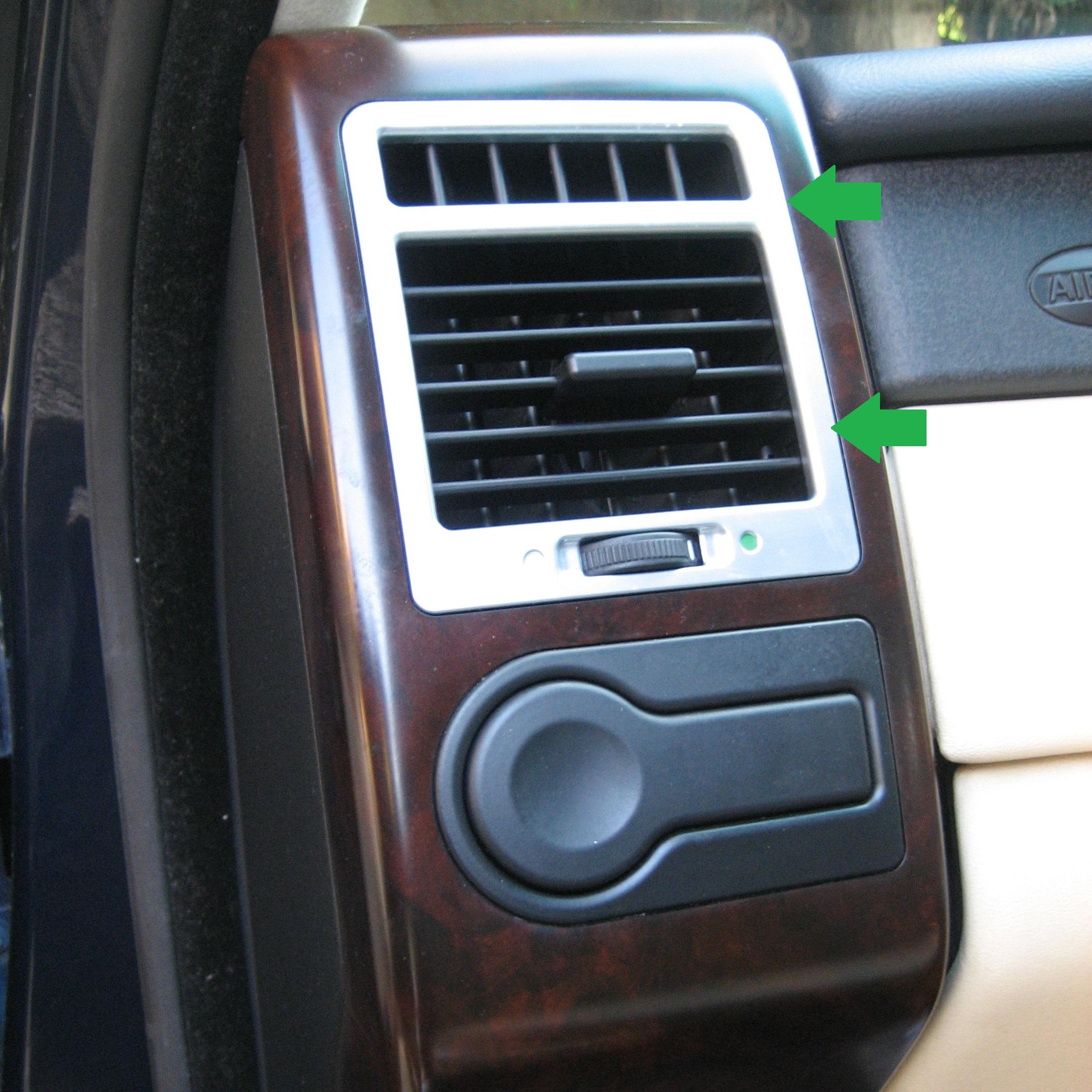 2002 Land Rover Range Rover Interior: Interior Dash Air Vent Facia Lined Oak For Range Rover