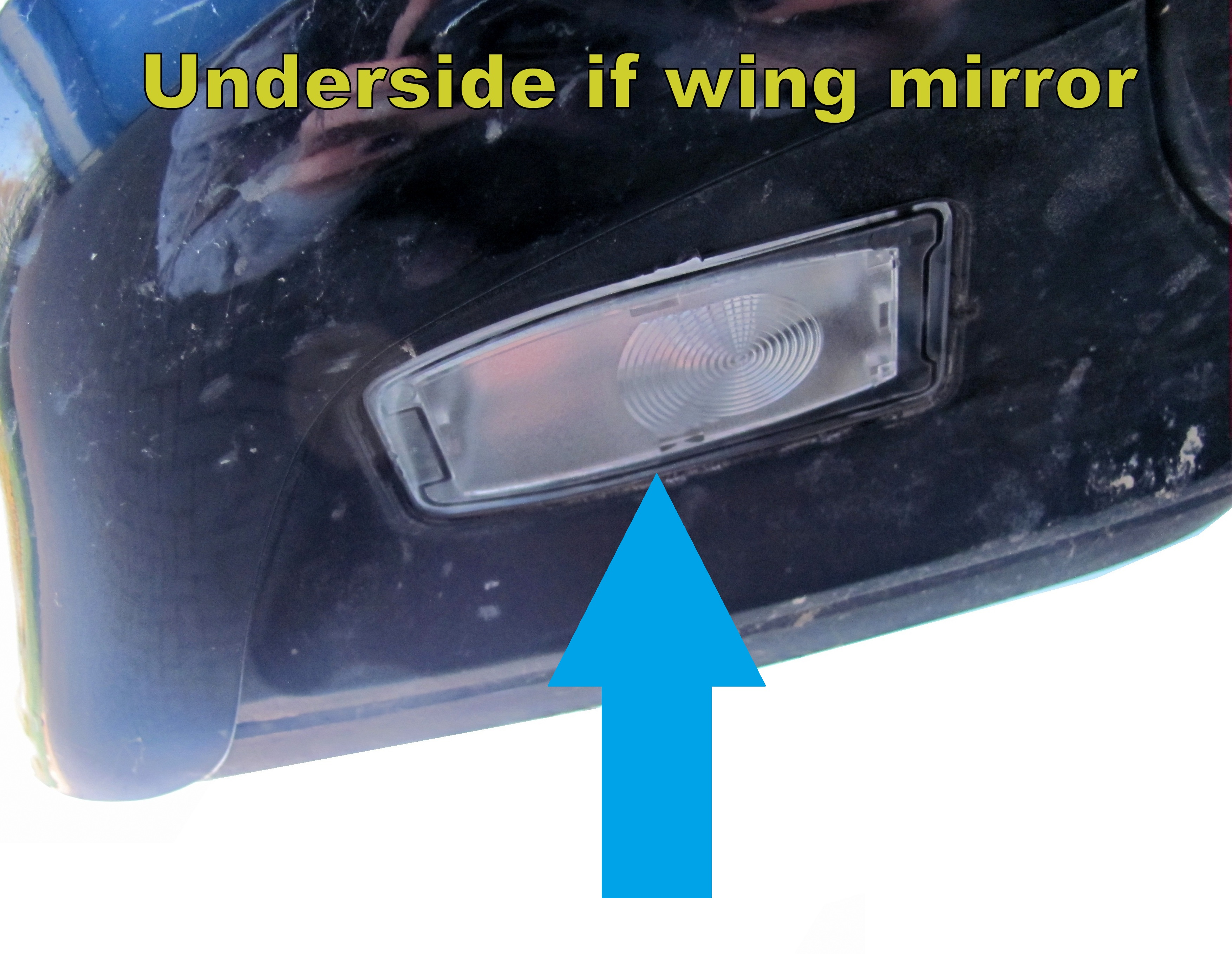 Range Rover L322 Door Wing Mirror Puddle Light Lamp White