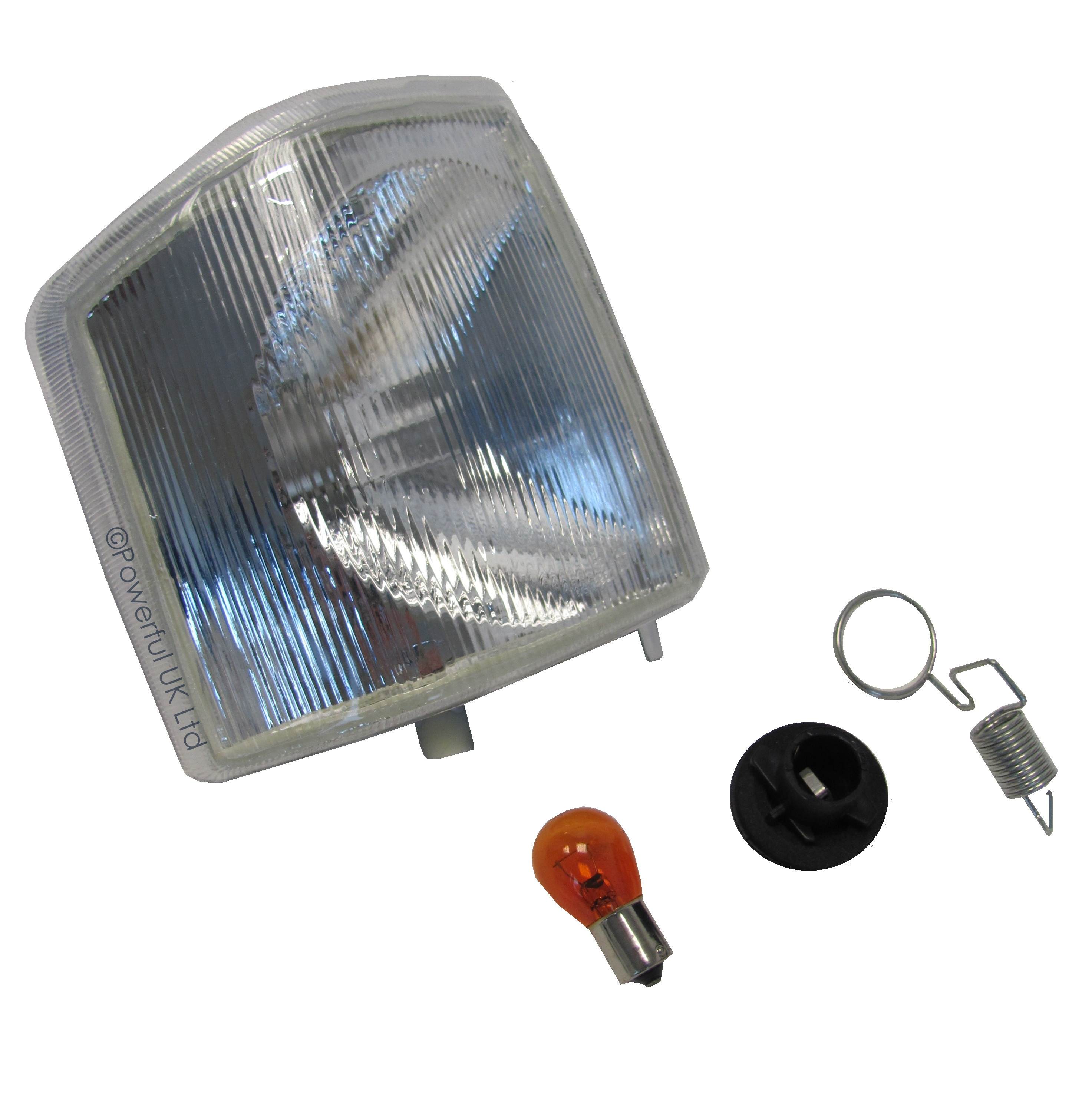 Offside Clear Front Indicator Light Lamp Land Rover