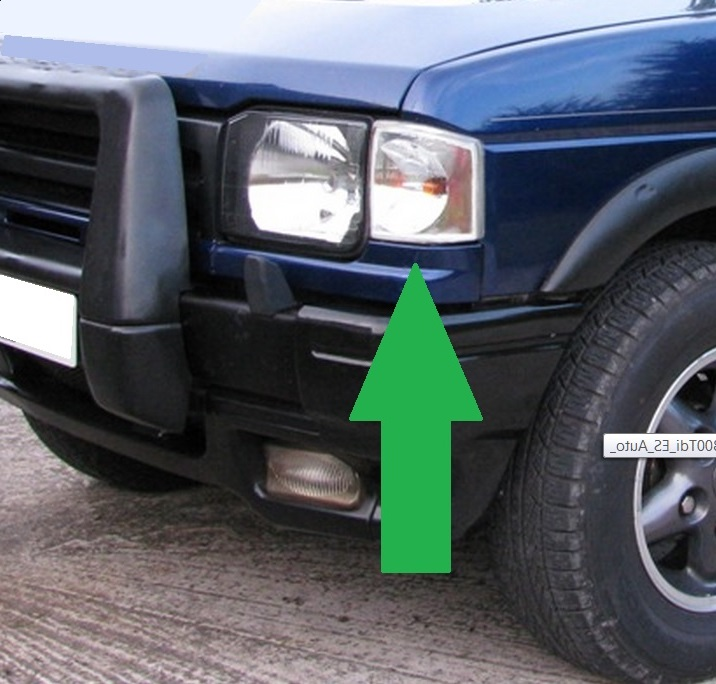 Nearside Clear Front Indicator Light Lamp For Land Rover