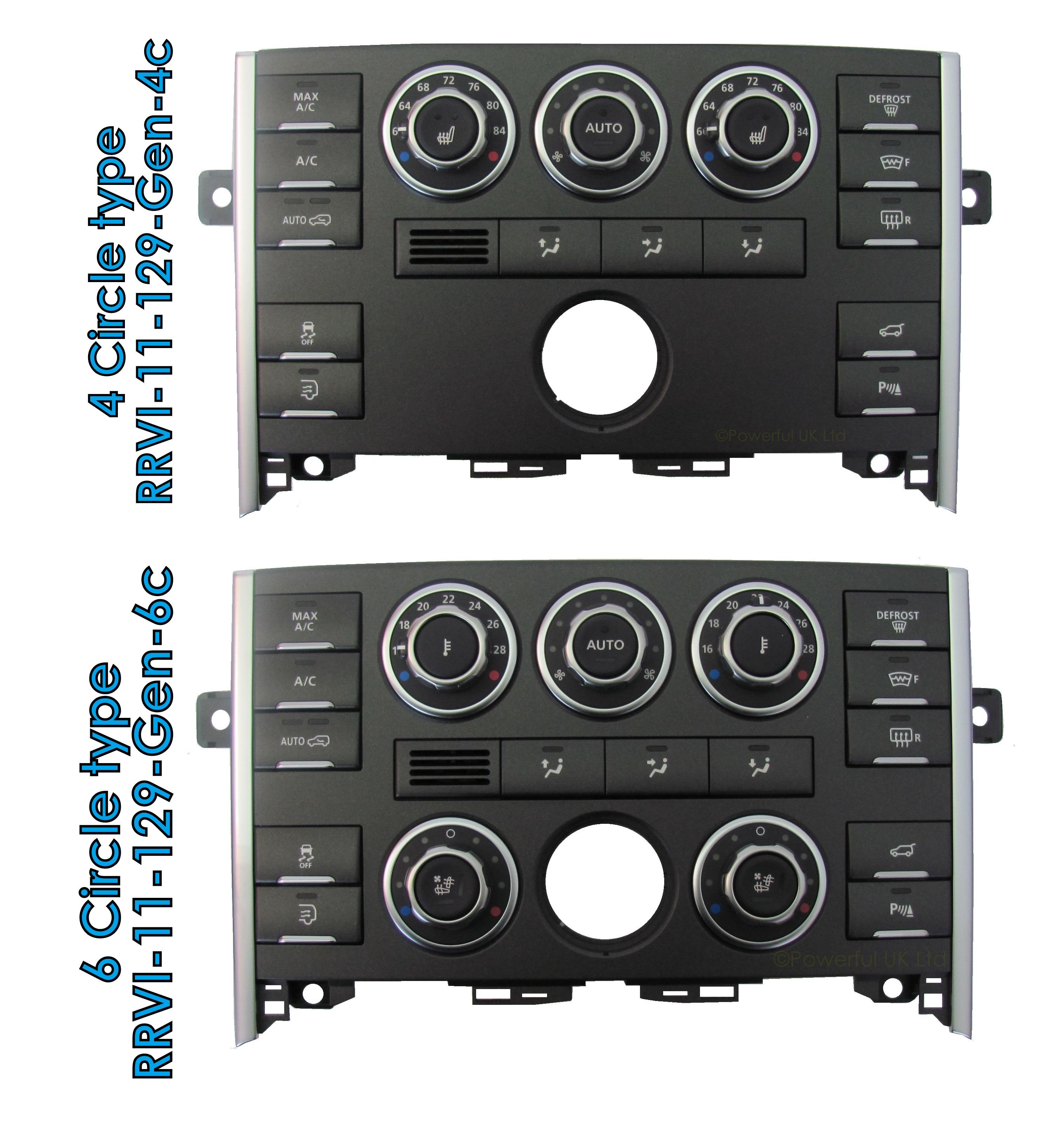 2002 Land Rover Range Rover Interior: Clock Dash Panel Fascia RangeRover L322 2010-12 Interior