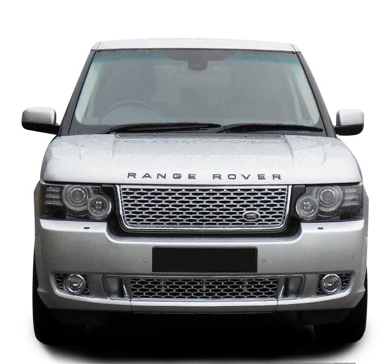 Genuine range rover l322 exterior design pack front bumper for Range rover exterior design package