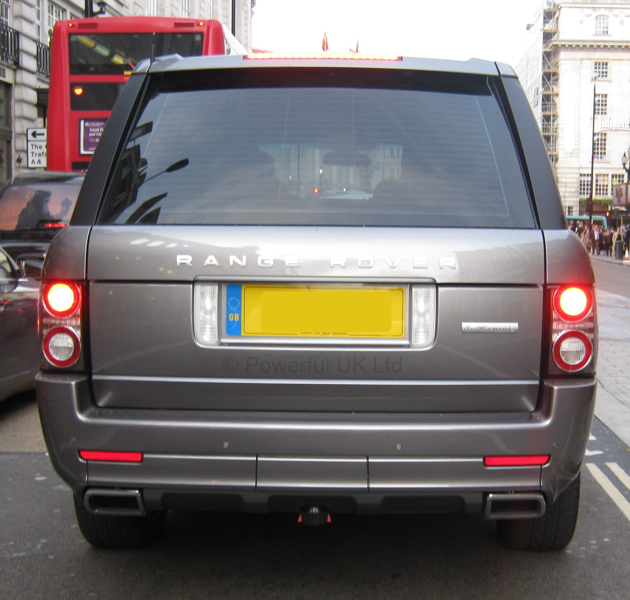 Genuine Range Rover L322 Exterior Design Pack Rear Bumper
